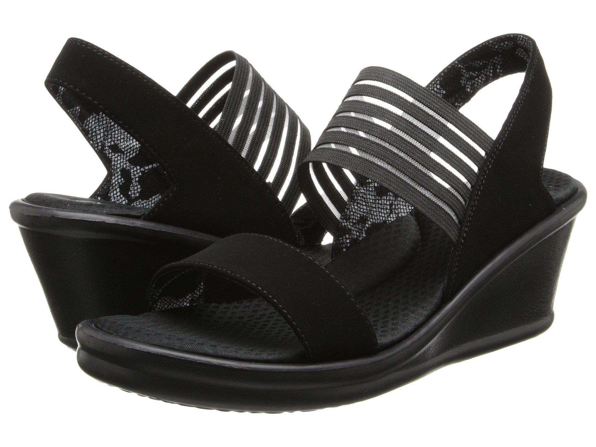 2bfb4bb4c177 Lyst - Skechers Rumblers-sci-fi (black) Women s Sandals in Black ...