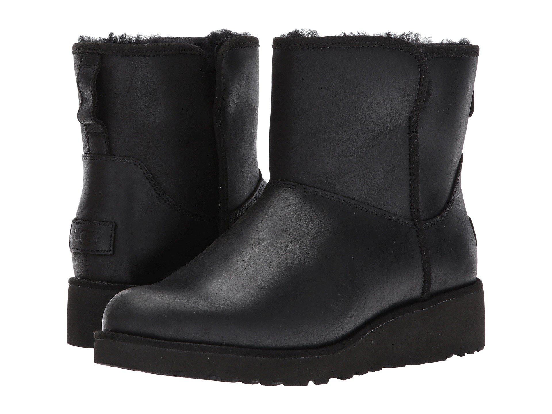 111611227b1 Lyst - UGG Kristin Leather in Black