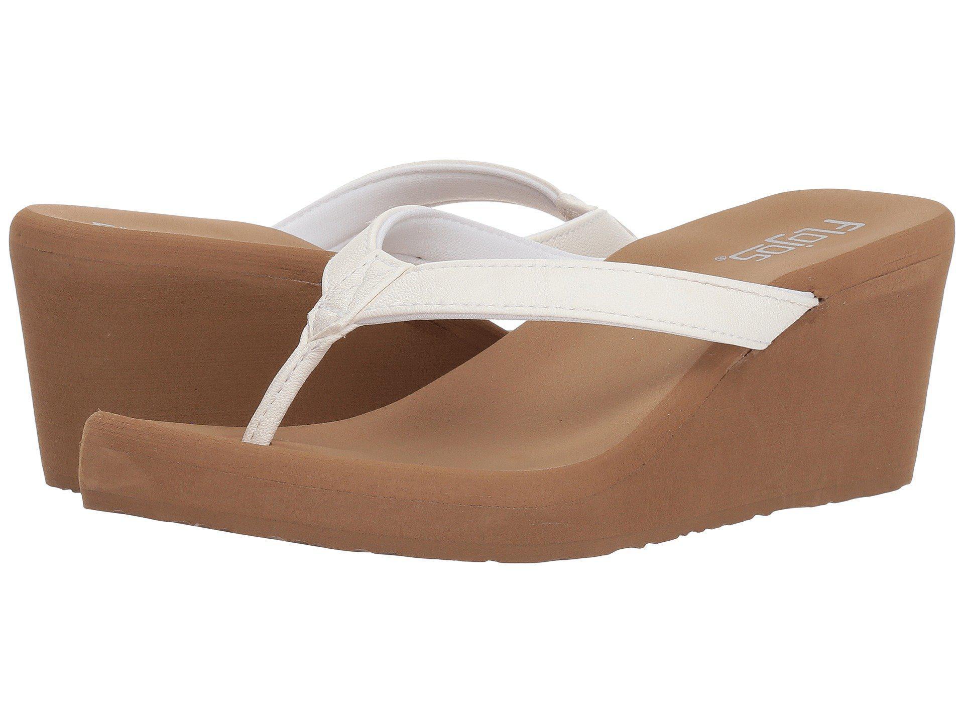 ab178199ba29a1 Lyst - Flojos Olivia (black) Women s Sandals in White