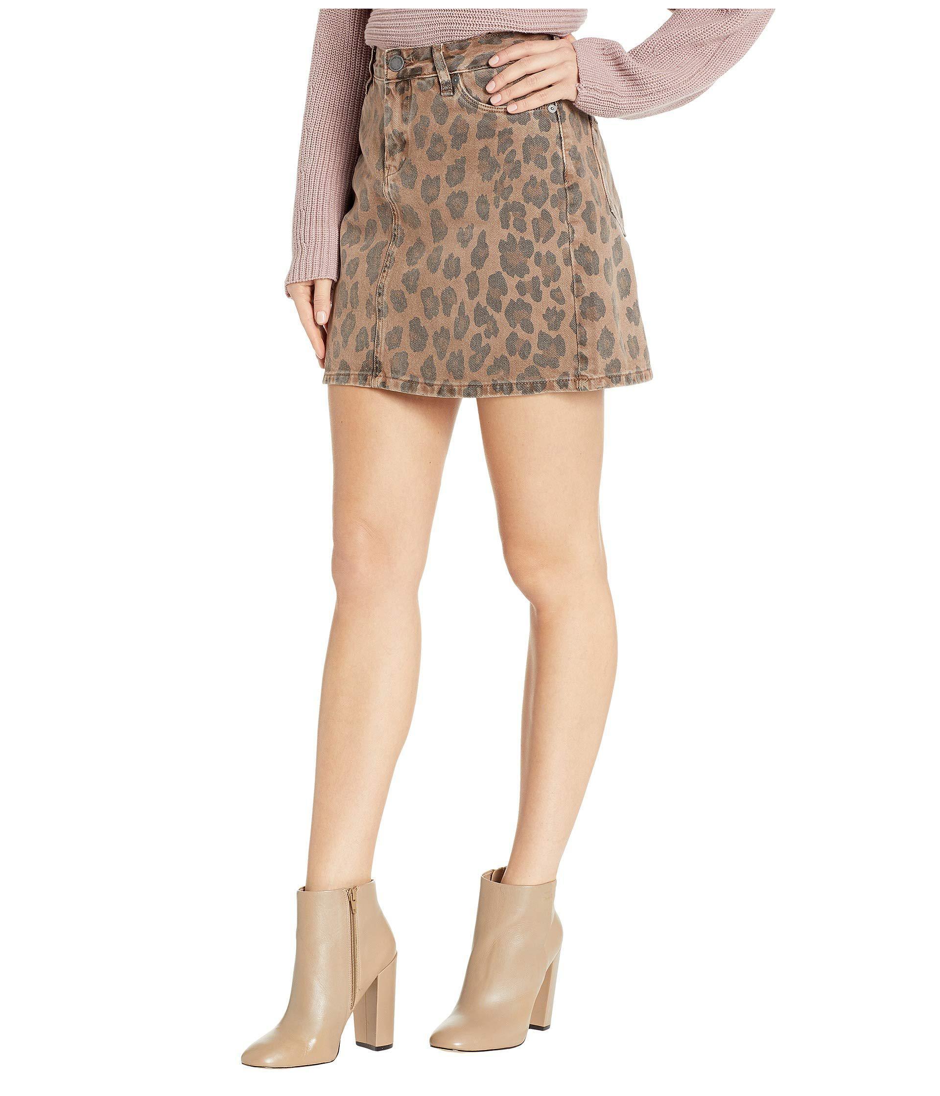 9da5227edd9 Lyst - Blank NYC Cheetah Printed Mini Skirt In Catwalk (catwalk) Women s  Skirt