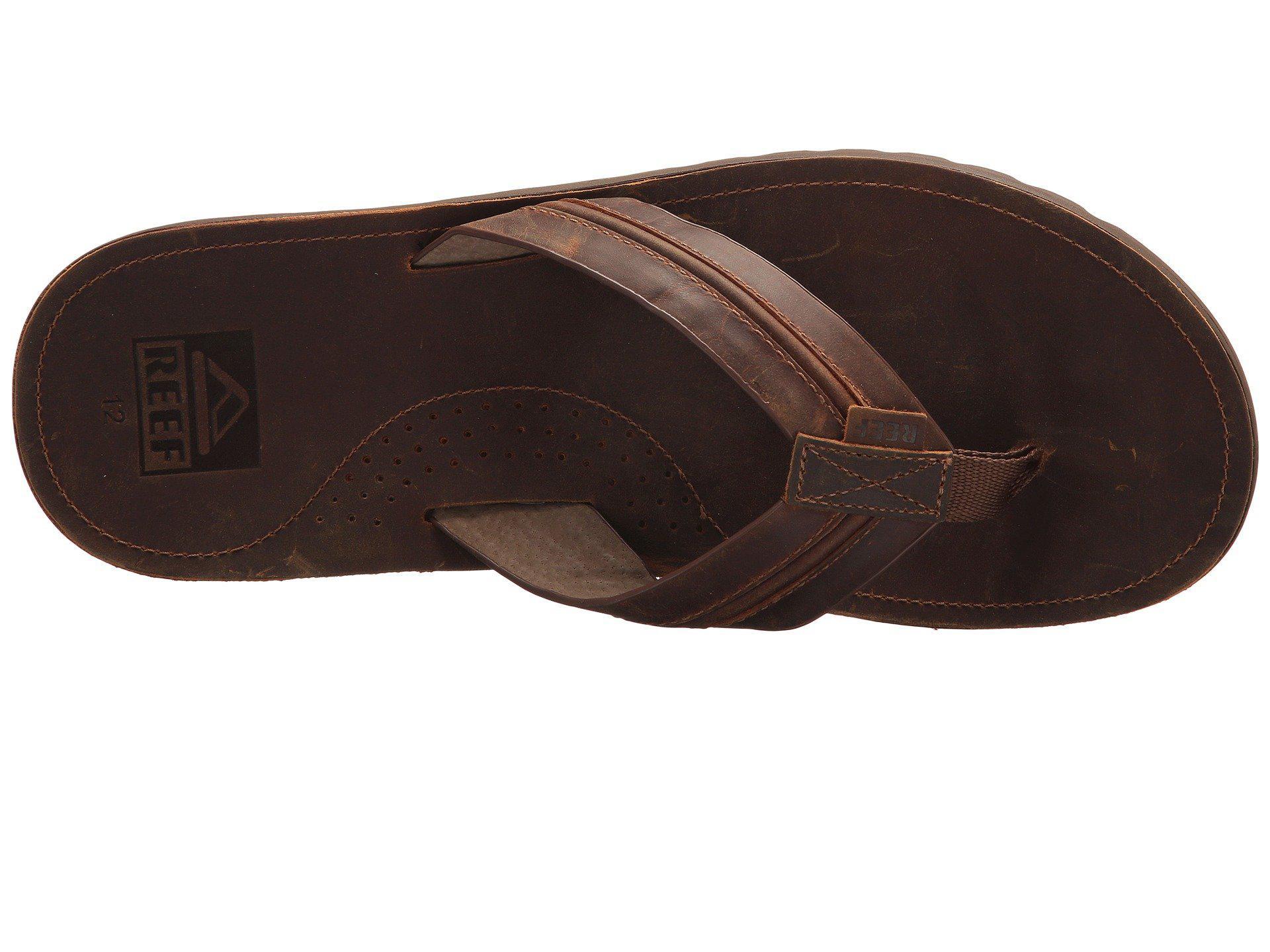 0c9db3f75f04 Reef - Voyage Lux (brown brown) Men s Sandals for Men - Lyst. View  fullscreen