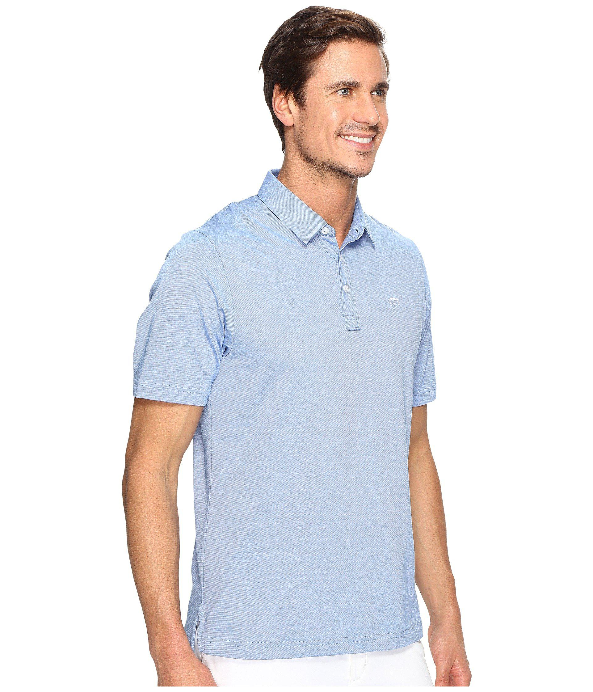 cc318c71 Travis Mathew The Zinna Polo (black) Men's Clothing in Blue for Men ...