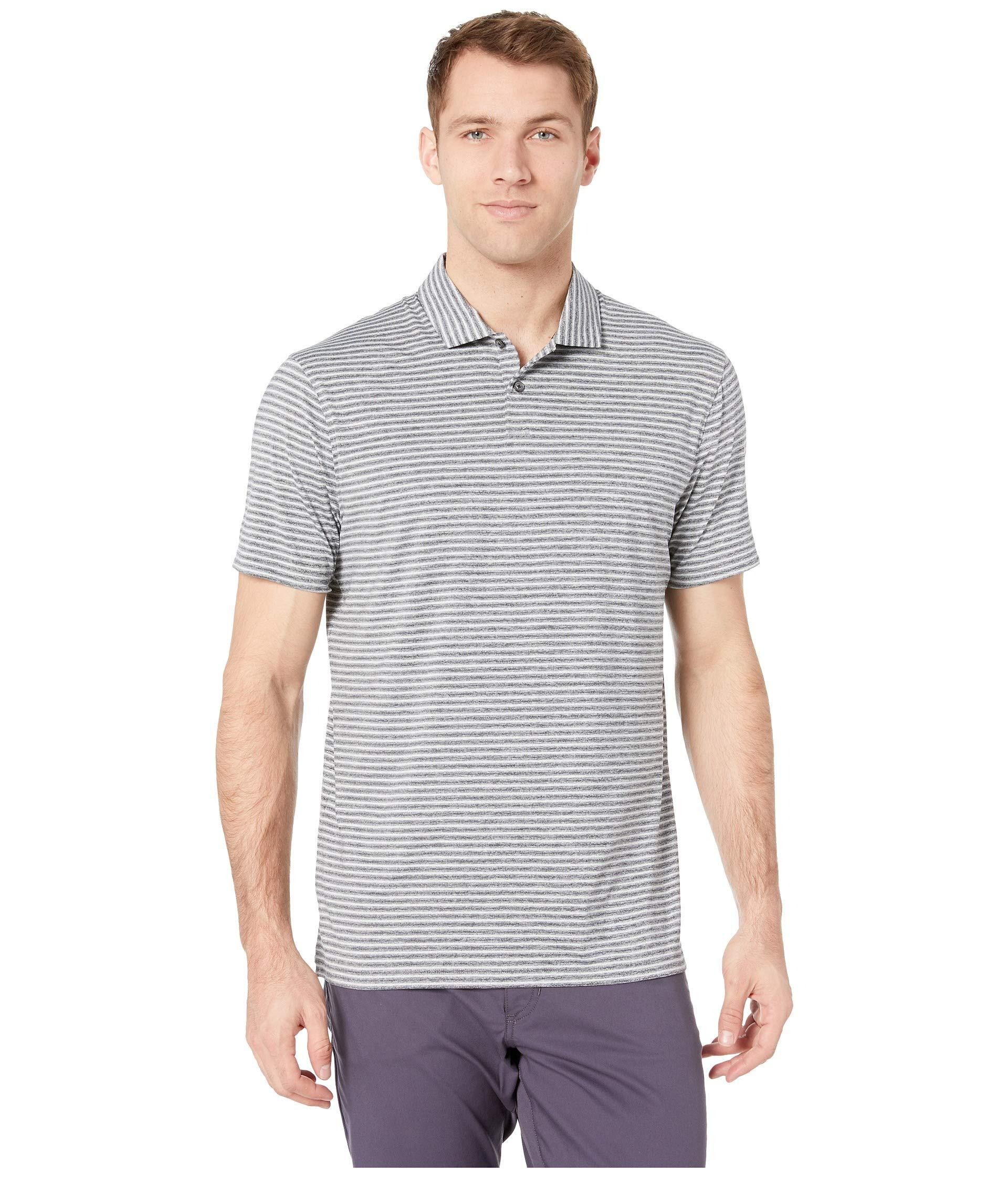 c071ac01 Lyst - Nike Dry Stripe Polo (black) Men's Clothing in Black for Men
