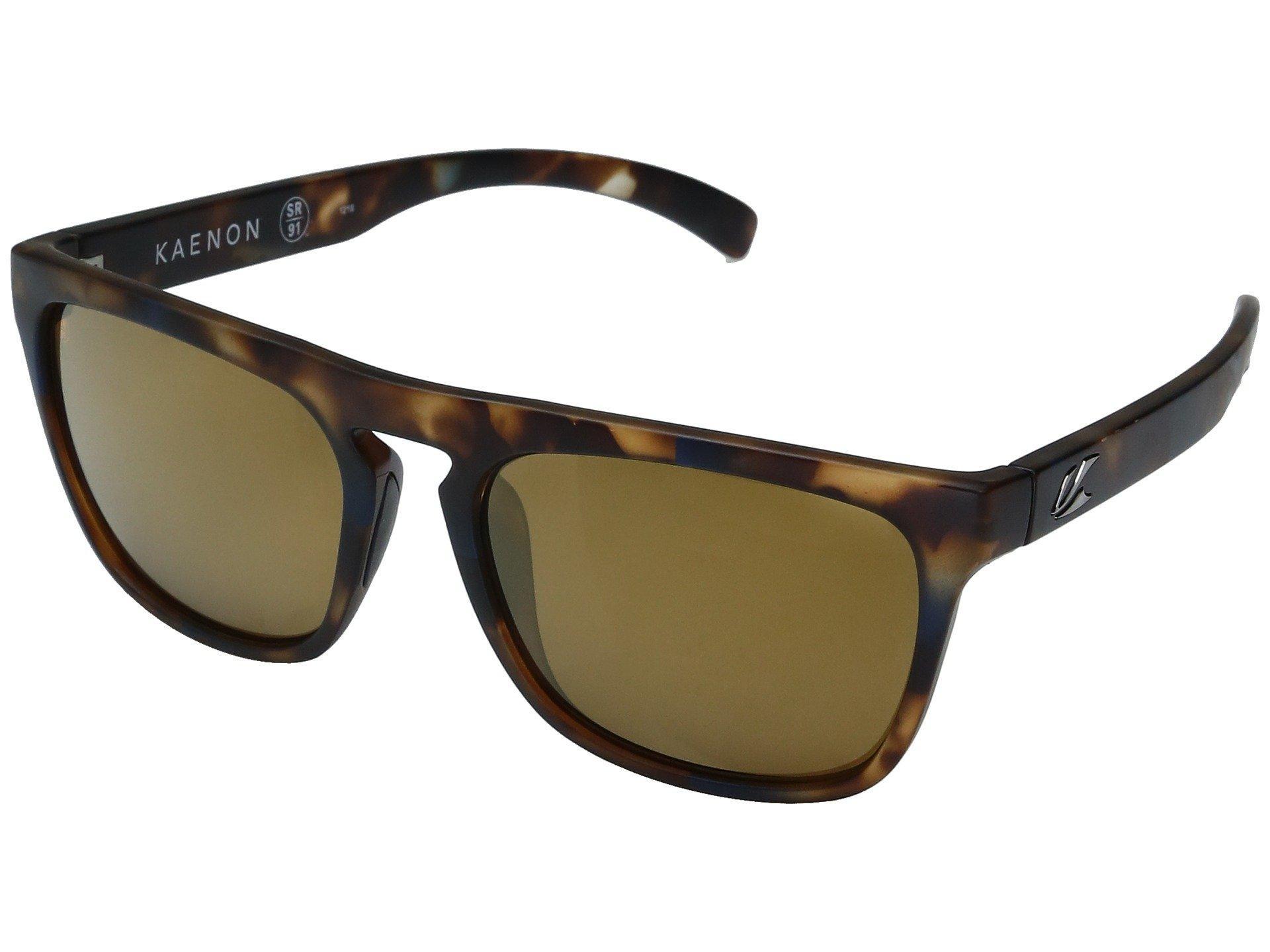 b587b665355 Kaenon - Brown Leadbetter (grey Weave grey 12 Polarized) Sport Sunglasses  for Men. View fullscreen