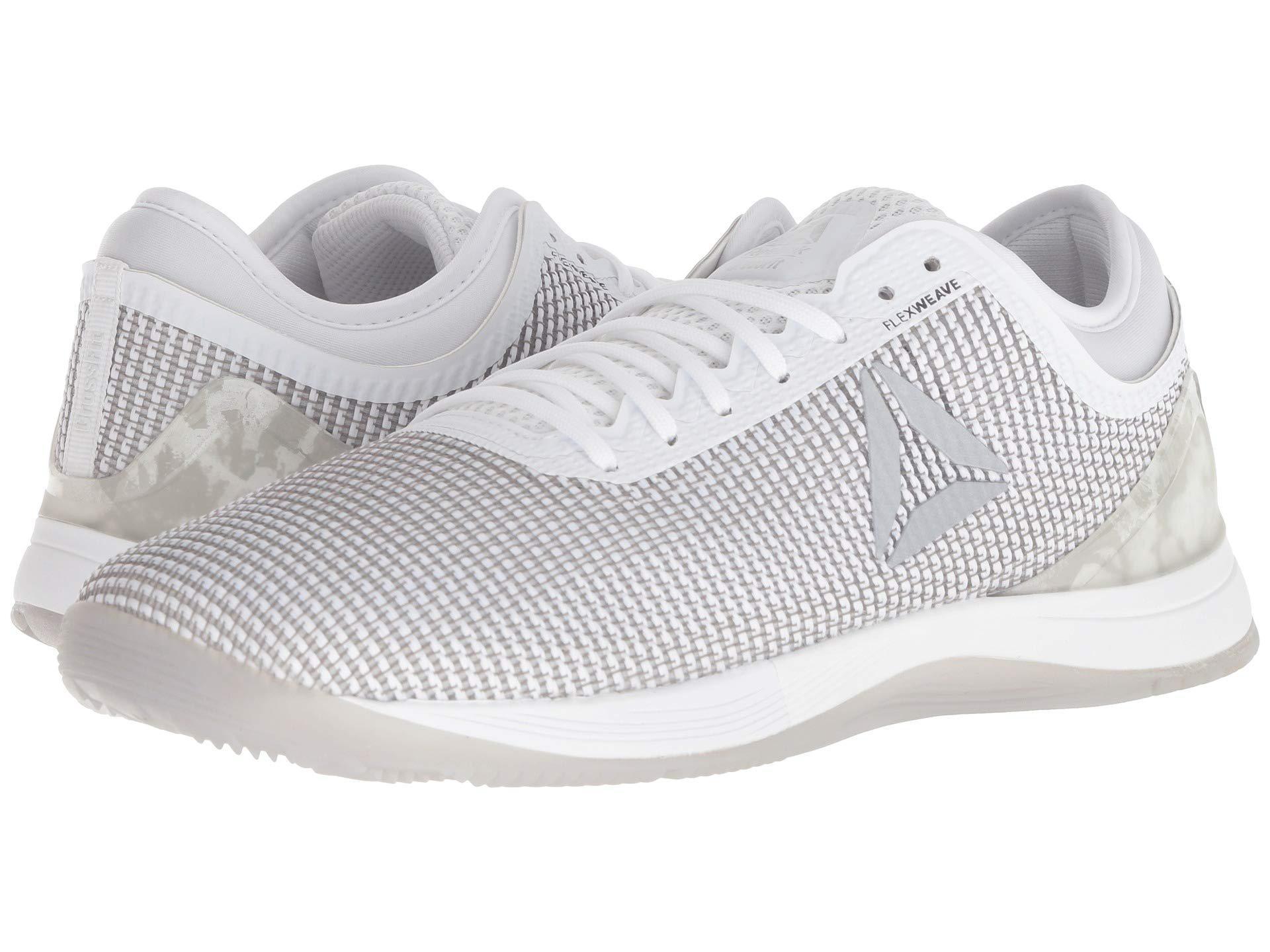 d978333e488 Reebok. Gray Crossfit(r) Nano 8.0 (tin Grey shark lemon Zest ash Grey white)  Men s Cross Training Shoes