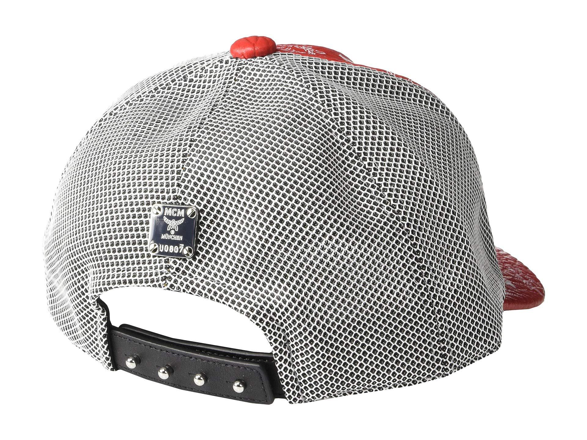 MCM - Classic Mesh Cap In Visetos (white Logo viva Red) Caps for. View  fullscreen 3d86cfb3b3a9