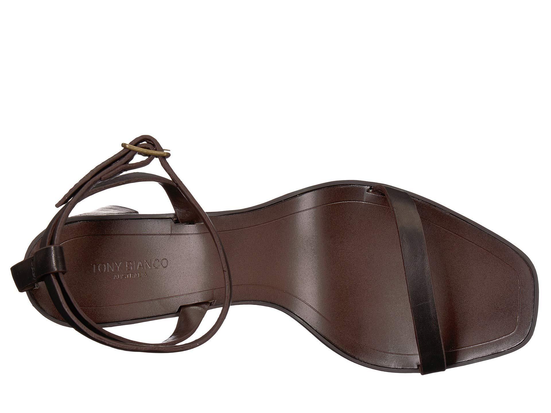 c413b0f7ed21 Lyst - Tony Bianco Casadi (black Monaco) Women s Toe Open Shoes in Black