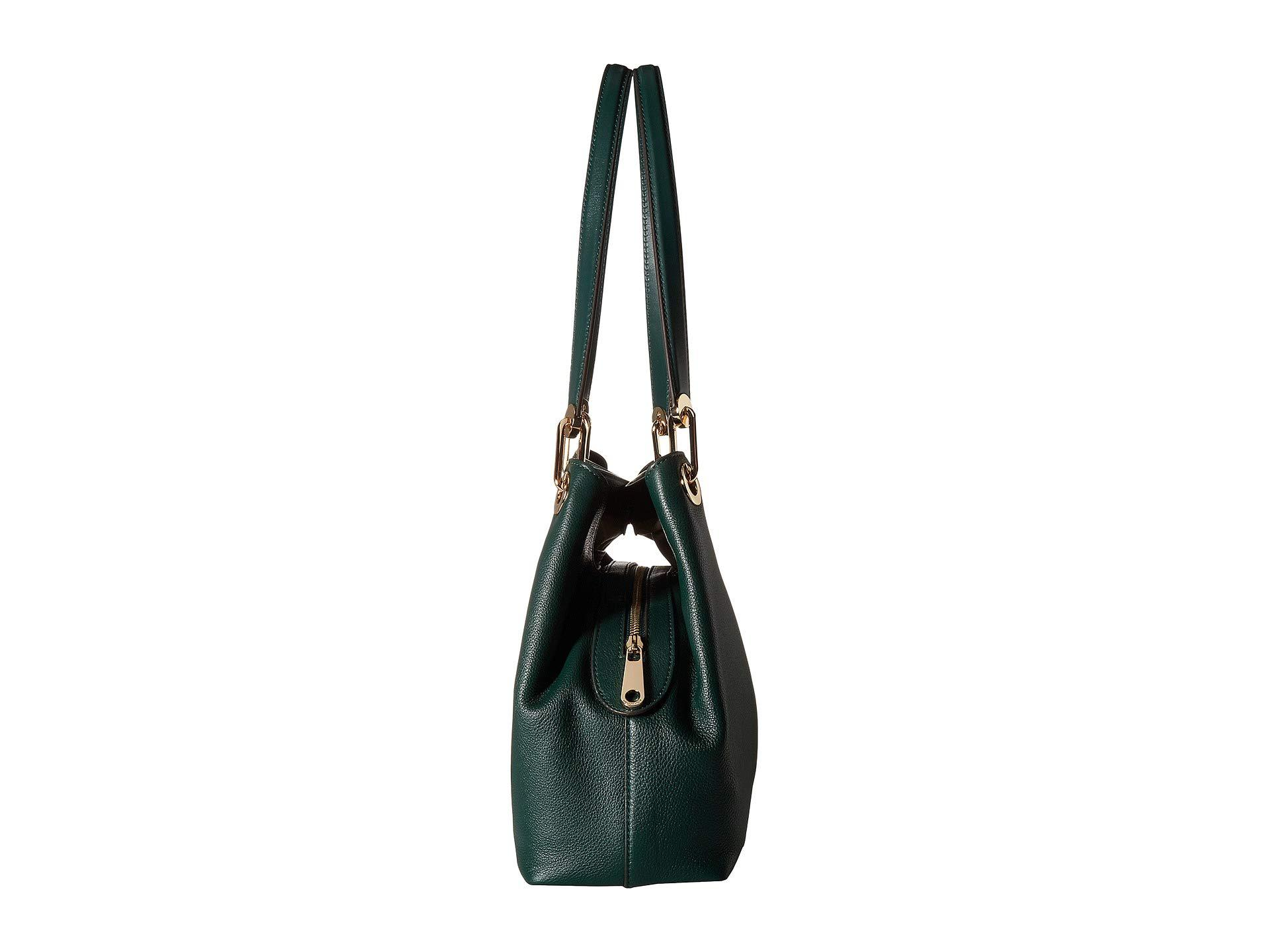 MICHAEL Michael Kors - Green Raven Large Shoulder Tote (black) Tote Handbags  - Lyst. View fullscreen e25b07ec85f