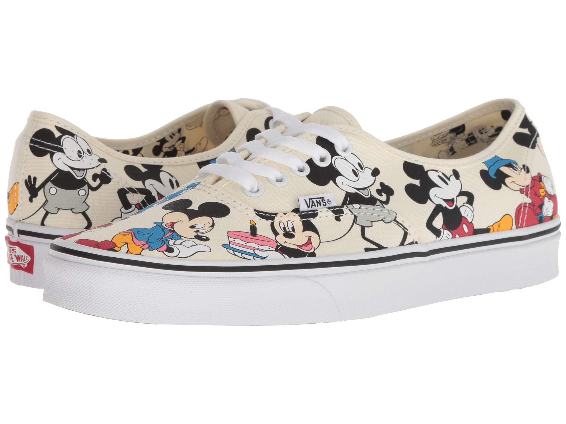 80a25c8945bc Lyst - Vans Mickey s 90th Disney(r) Authentictm ((disney) Mickey s ...
