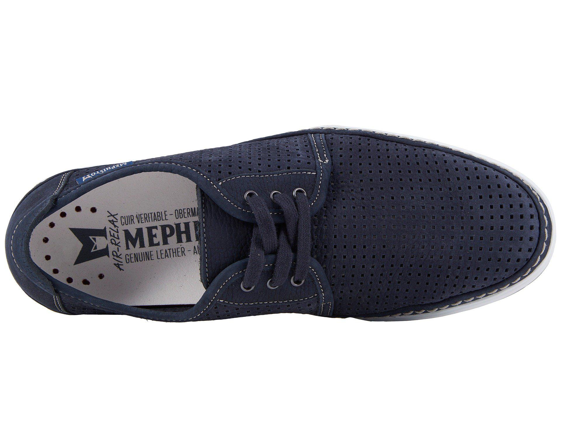ea09ca95e15 Lyst - Mephisto Harry Perf (light Grey Sportbuck) Men s Lace Up ...