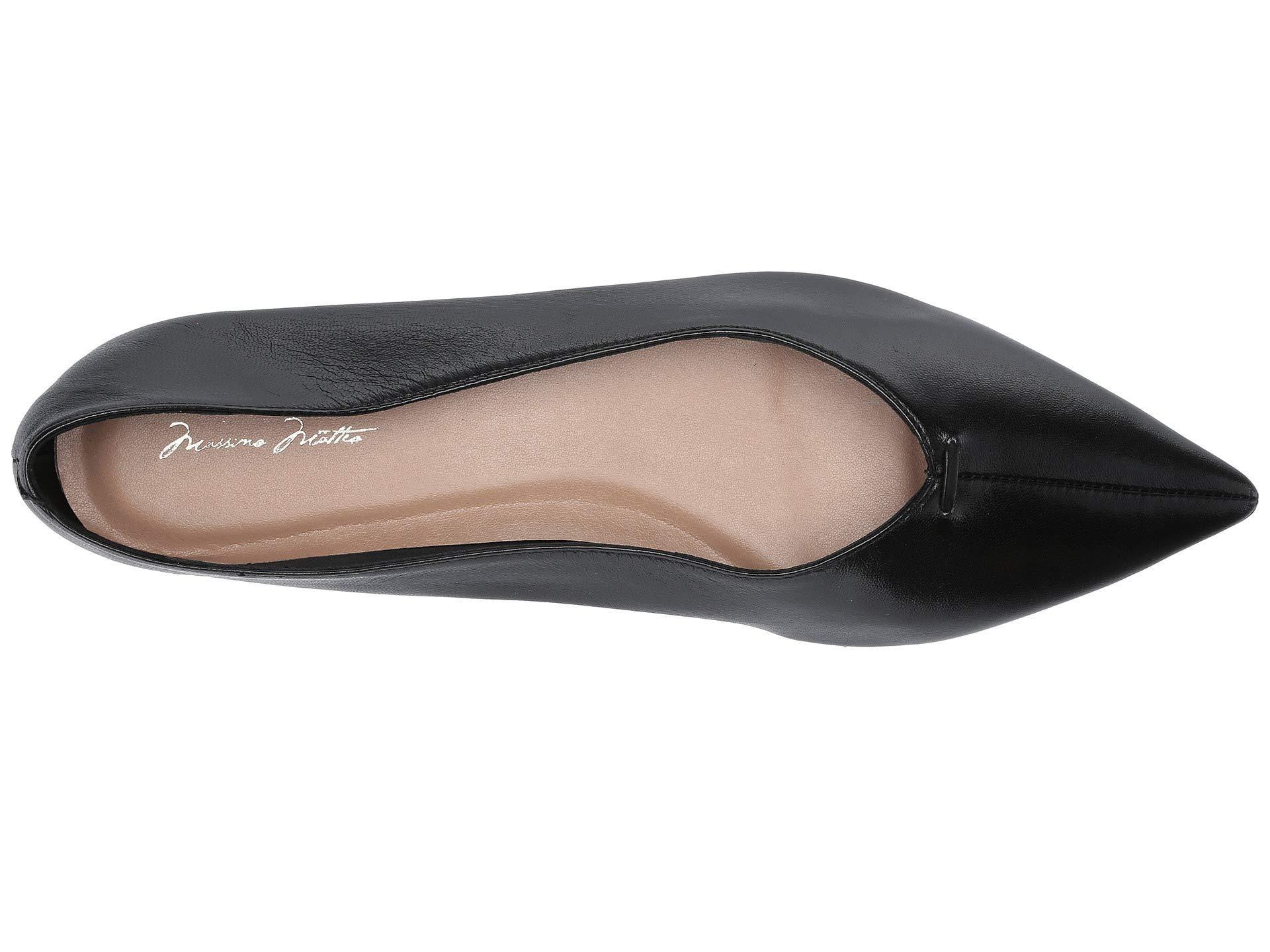 a7cc877f6 Lyst - Massimo Matteo Raquel Flat (linen Leather) Women's Flat Shoes ...