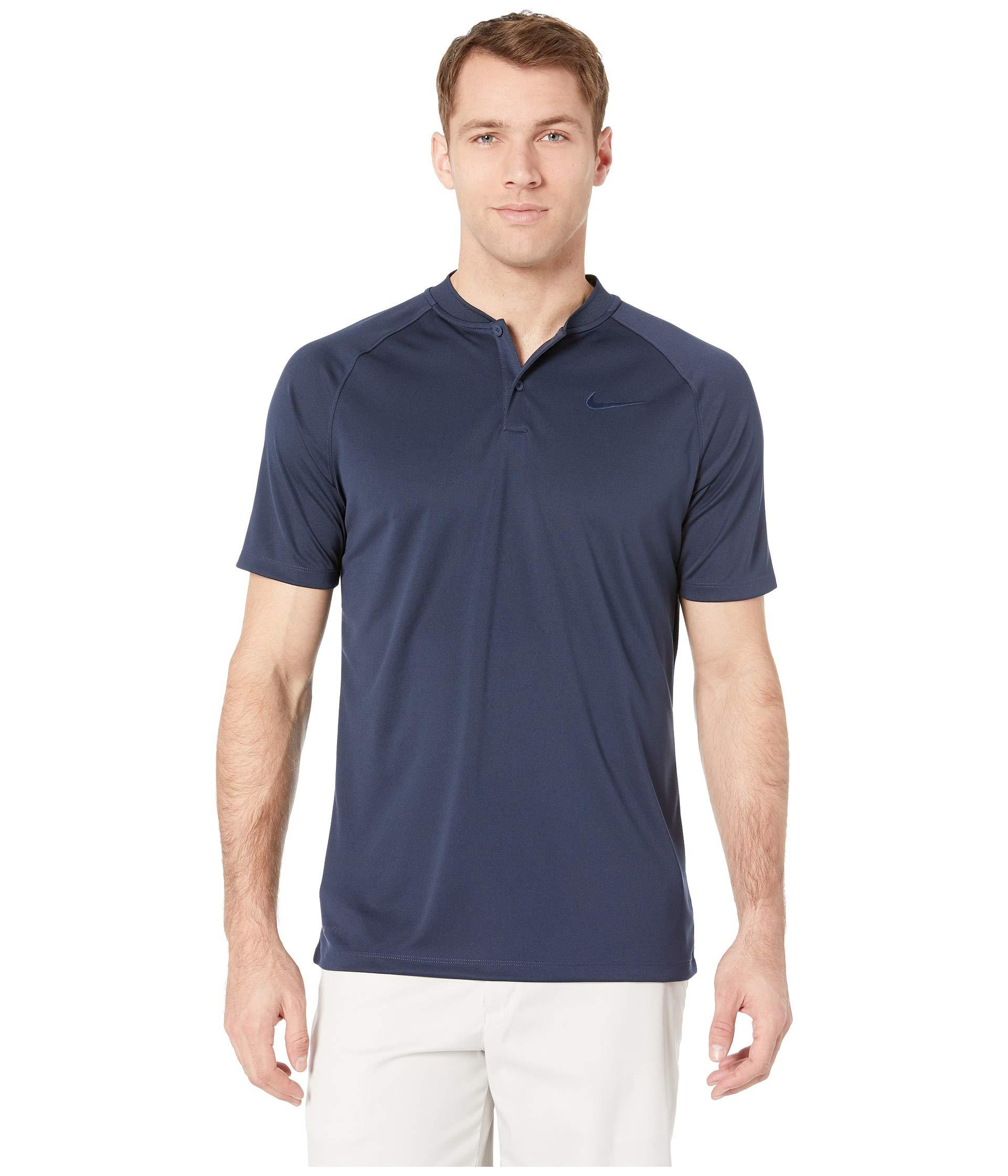 d43171fa Lyst - Nike Victory Blade Polo (college Navy/college Navy/white ...