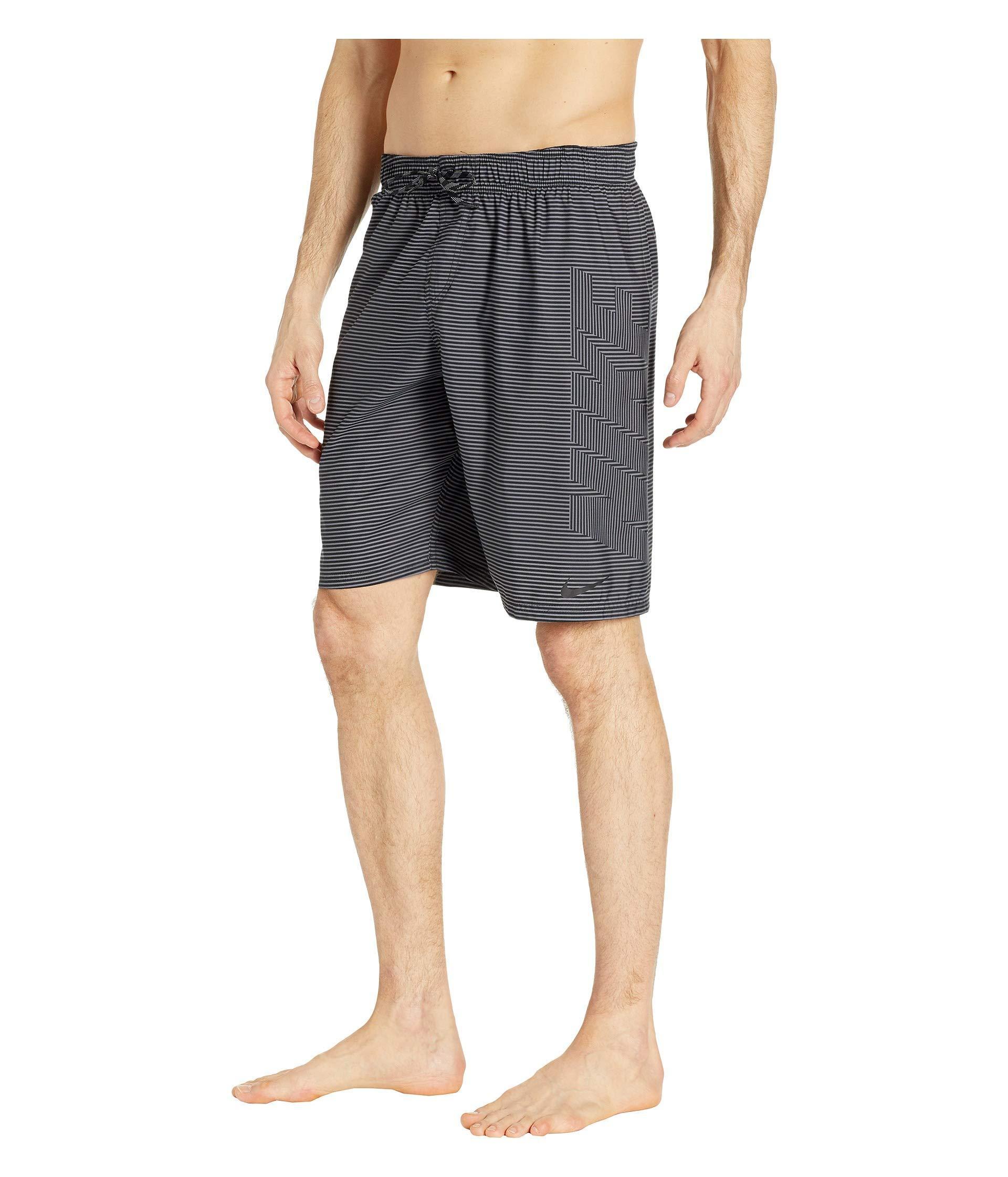 8ca1066705 Lyst - Nike 9 Line Break Breaker Volley Shorts (indigo Fog) Men's Swimwear  in Black for Men