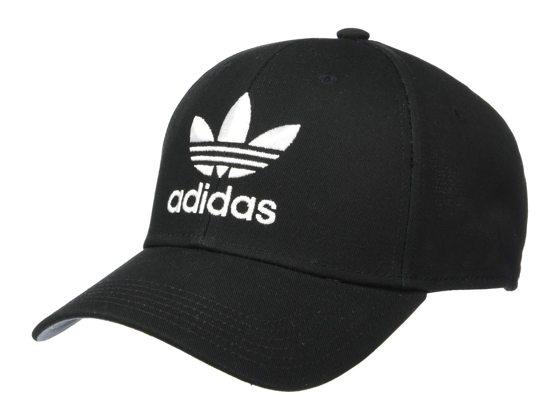 0f883937789 Adidas Originals - Trefoil Snapback In Black Bk7324 for Men - Lyst. View  fullscreen