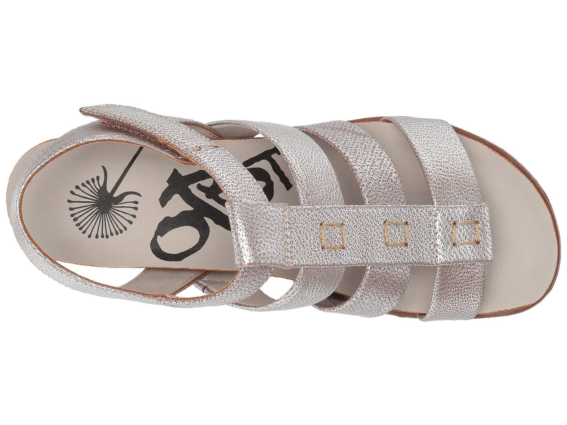 bdcf96339fe Otbt - Metallic New Moon (silver) Women s Wedge Shoes - Lyst. View  fullscreen