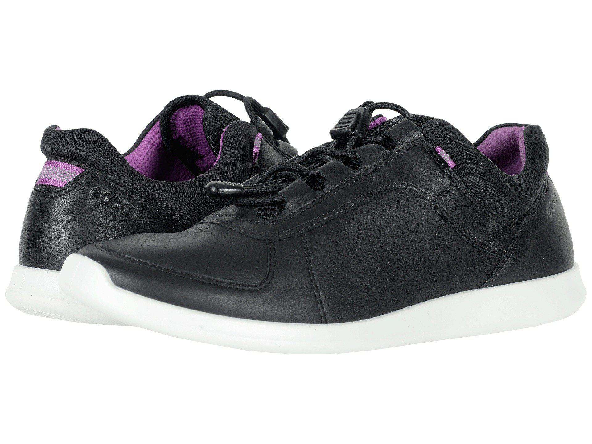 11e9fcc66caa Ecco. Black Sense Toggle (true Navy Yak Leather) Women s Lace Up Casual  Shoes