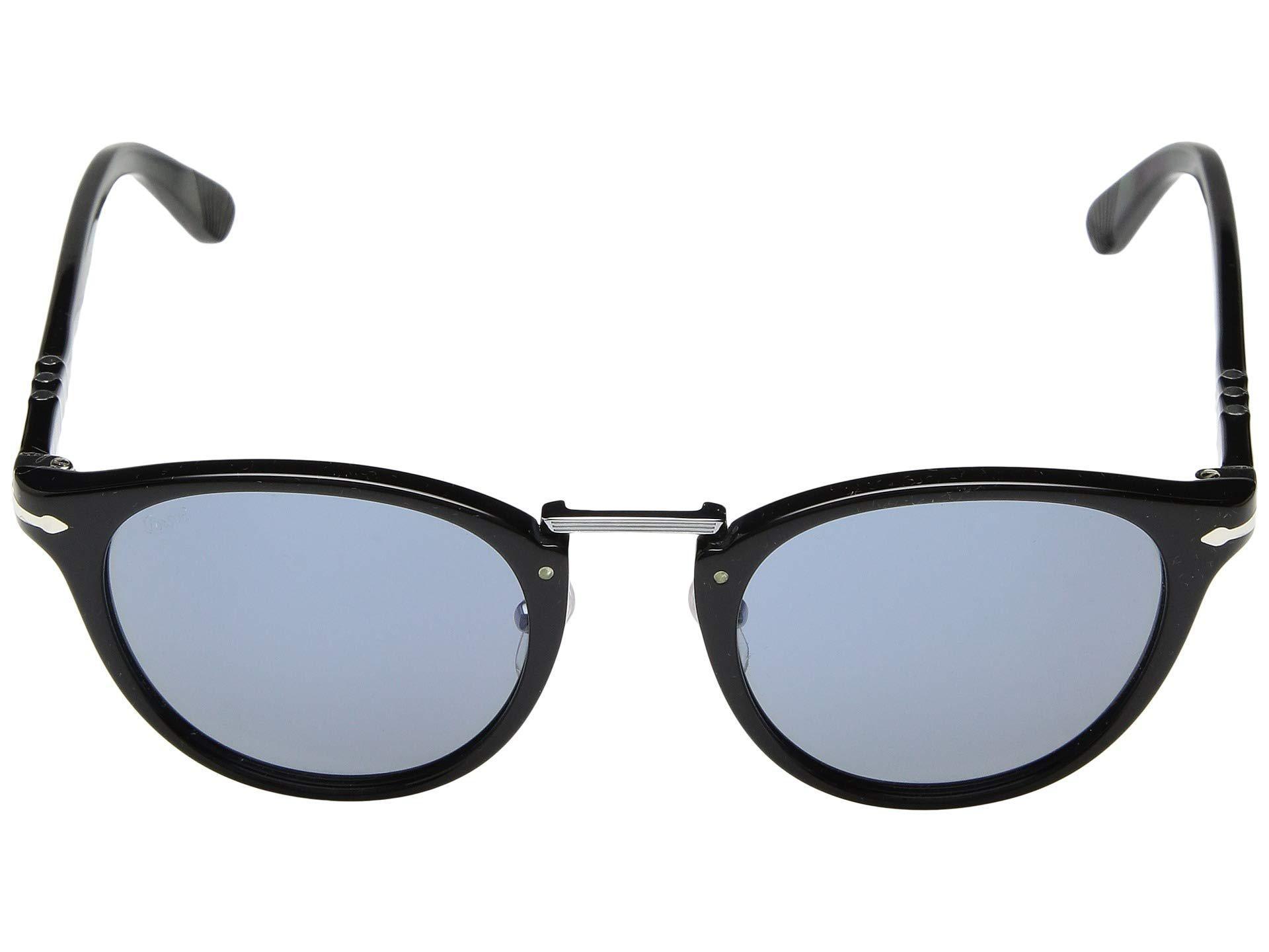 b66d9ce67ca Lyst - Persol 0po3108s (black light Blue) Fashion Sunglasses in ...