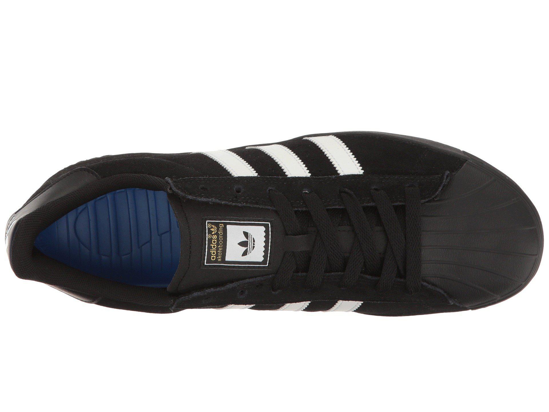 the latest 5e687 6656a Adidas Originals - Superstar Vulc Adv (white black white) Skate Shoes for.  View fullscreen