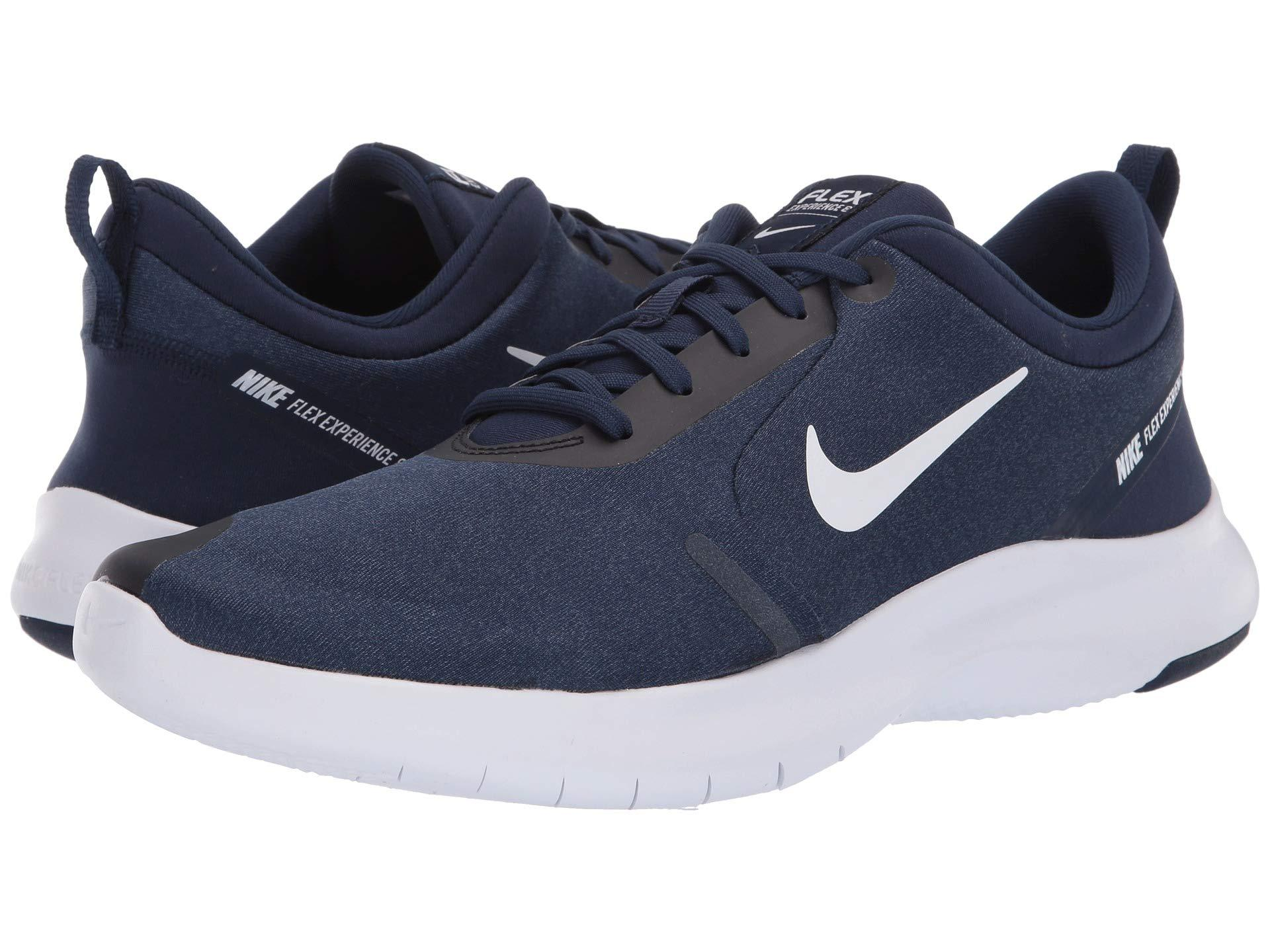 5a4af3b47dd3 Lyst - Nike Flex Experience Rn 8 (midnight Navy white monsoon Blue ...