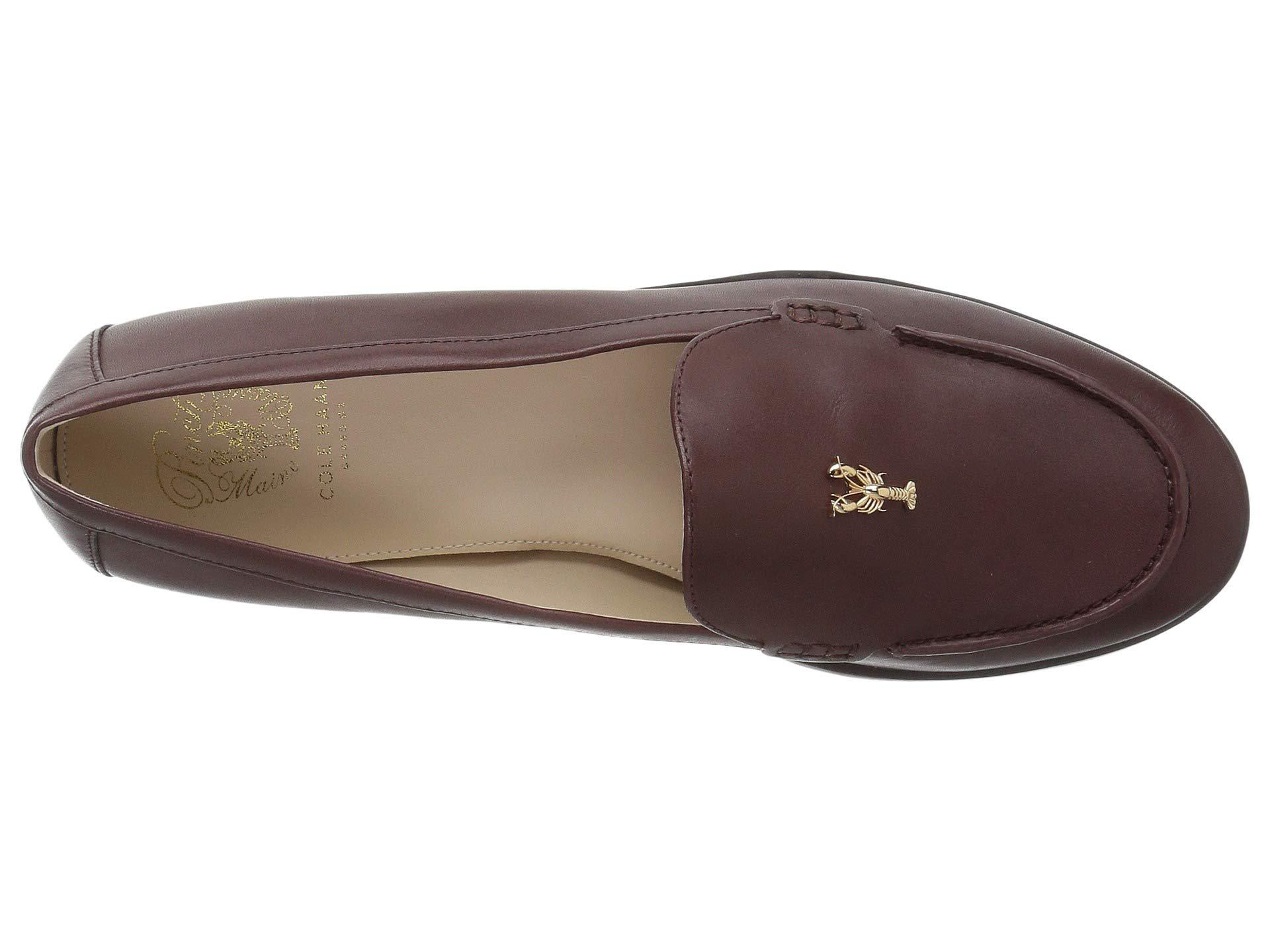 399be52ab01 Lyst - Cole Haan Pinch Lobster Loafer (cordovan Leather) Women s ...
