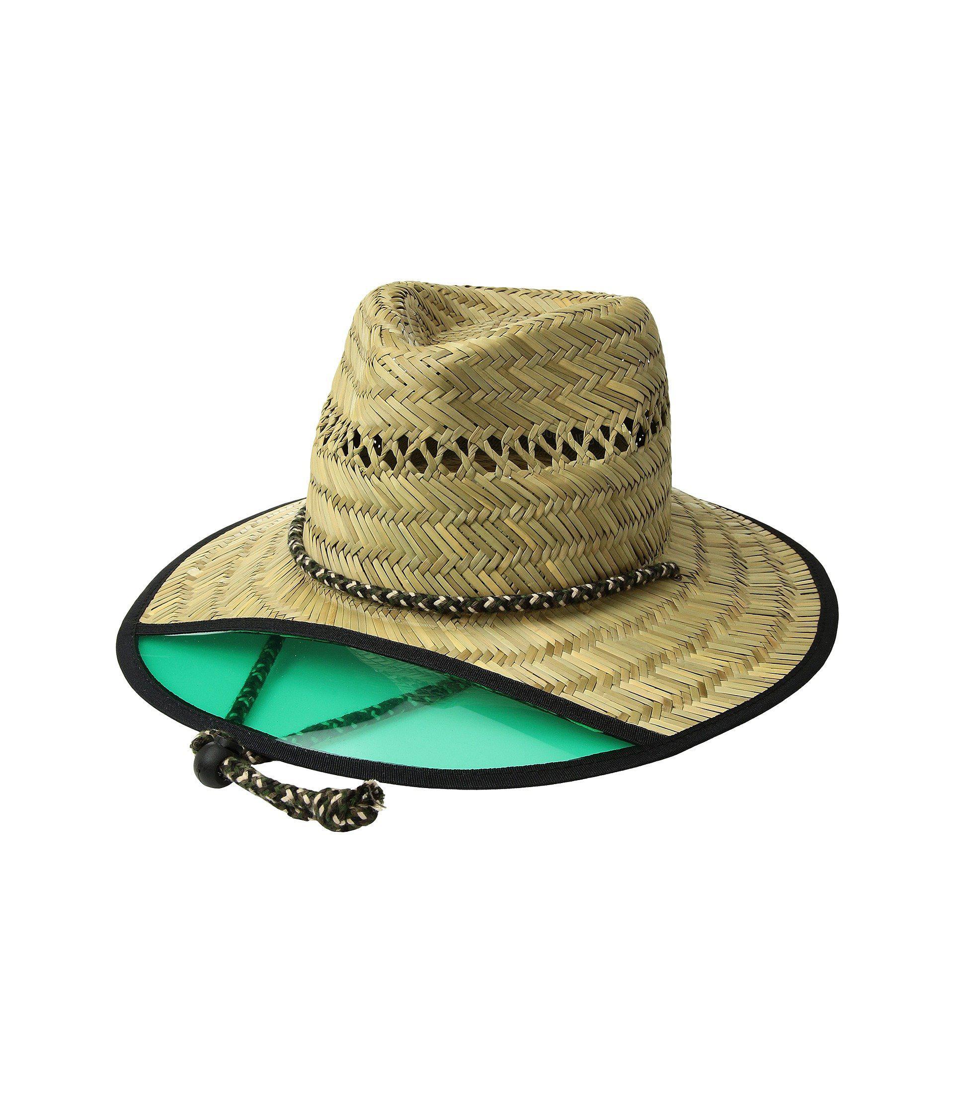 Lyst - San Diego Hat Company Lifeguard W  Plastic Visor (natural ... 89f801c0b85