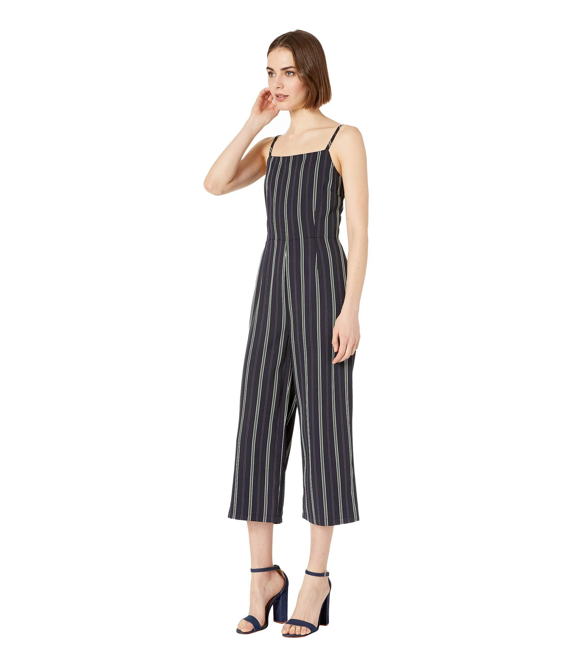 0797f1da7026 Lyst - Cupcakes And Cashmere Avery Striped Jumpsuit (ink) Women s Jumpsuit    Rompers One Piece