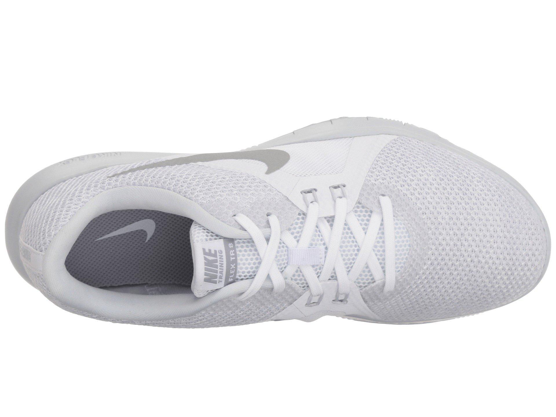 c5a3686f8d48 Nike - Metallic Flex Tr 8 (wolf Grey igloo white pure Platinum. View  fullscreen
