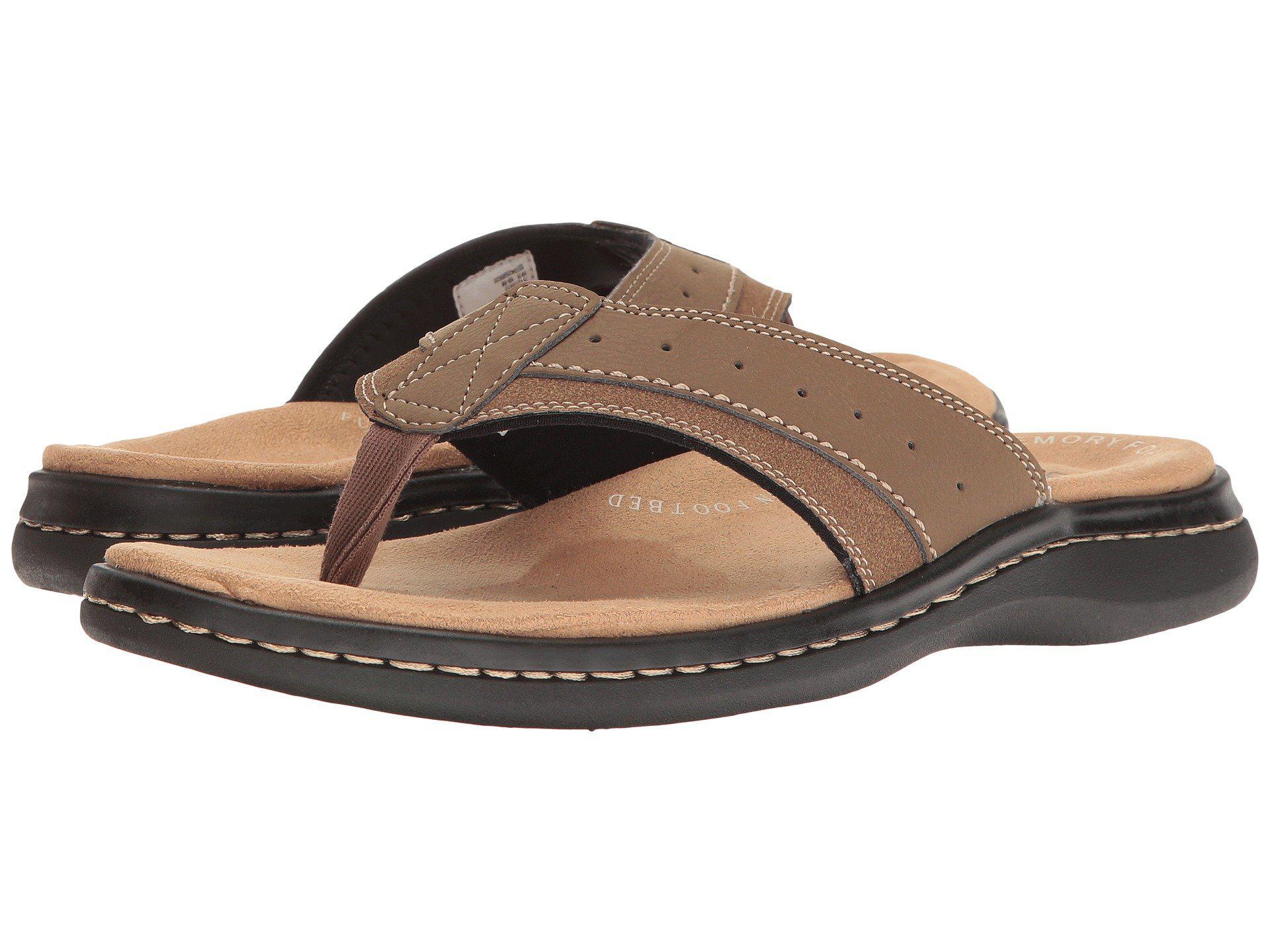 4c15f15dd Lyst - Dockers Laguna Thong Sandal (dark Tan) Men s Shoes in Brown ...