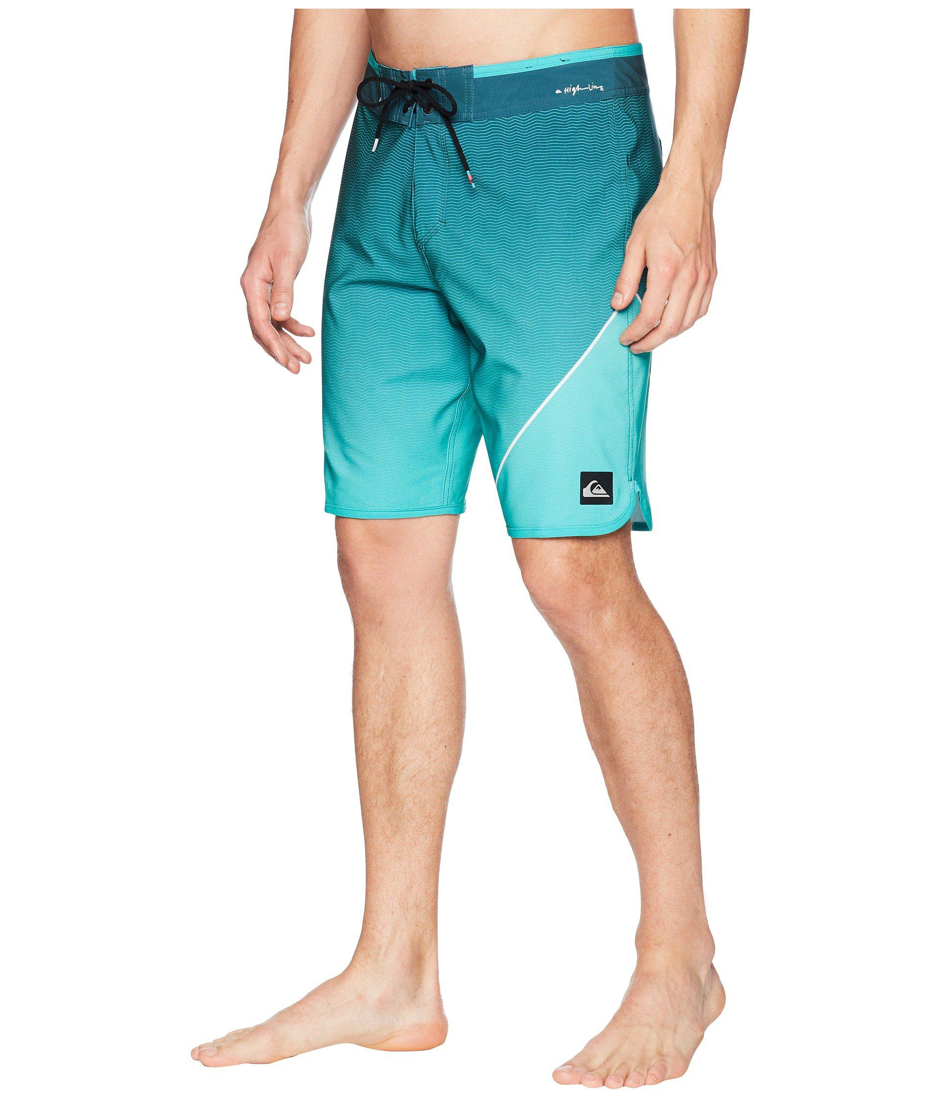 0cb707b78b New Quiksilver New Wave Everyday Hawaii Boardshorts Forest Night