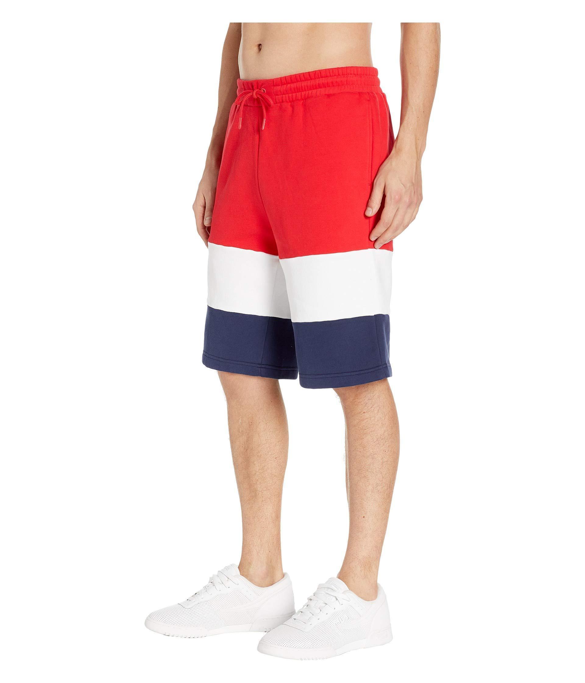 3814c2b1c779 Lyst - Fila Alanzo Shorts (red white navy) Men s Shorts for Men