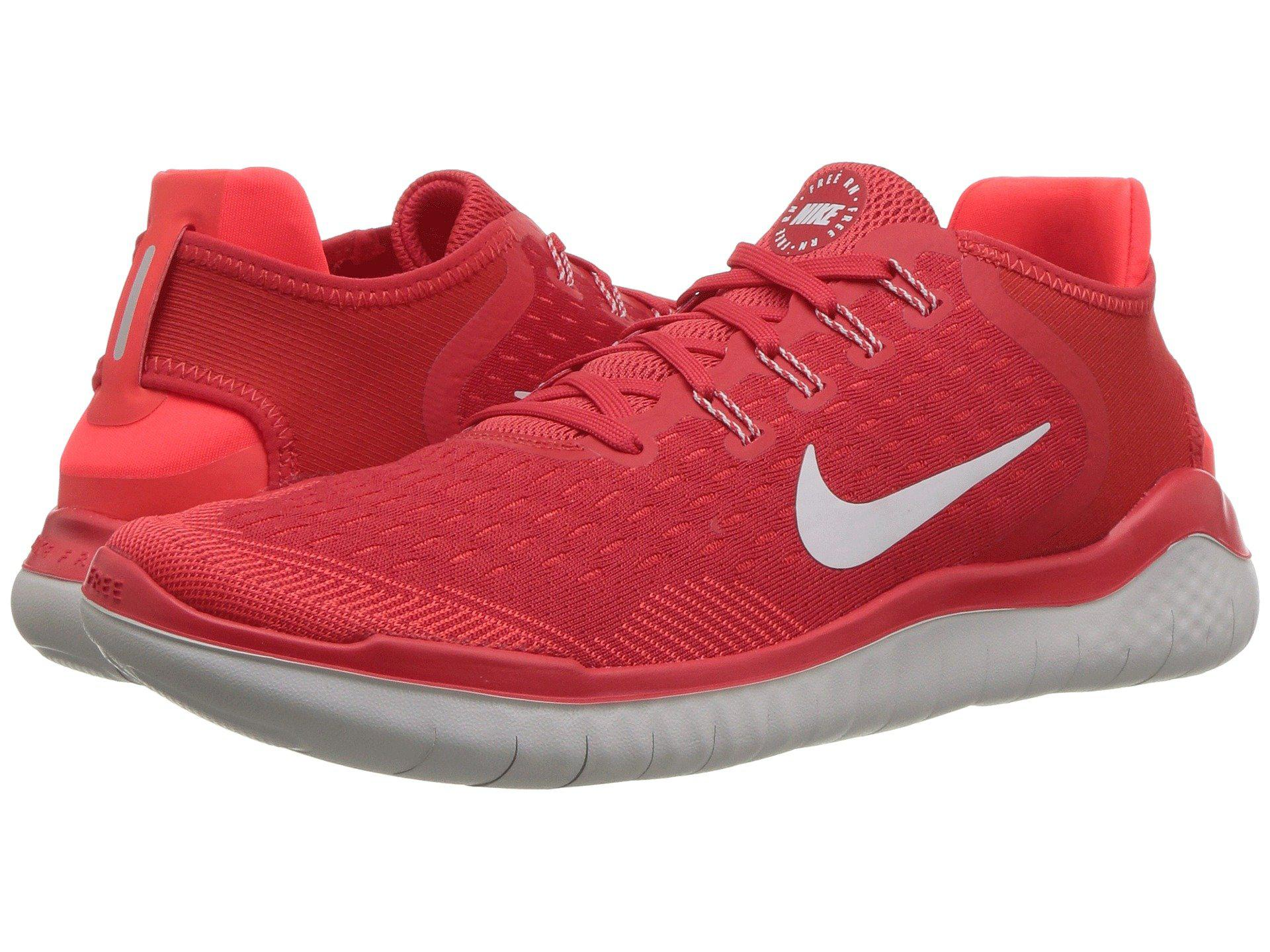 67c5eb82c2e62 Lyst - Nike Free Rn 2018 (white black) Men s Running Shoes in Red ...