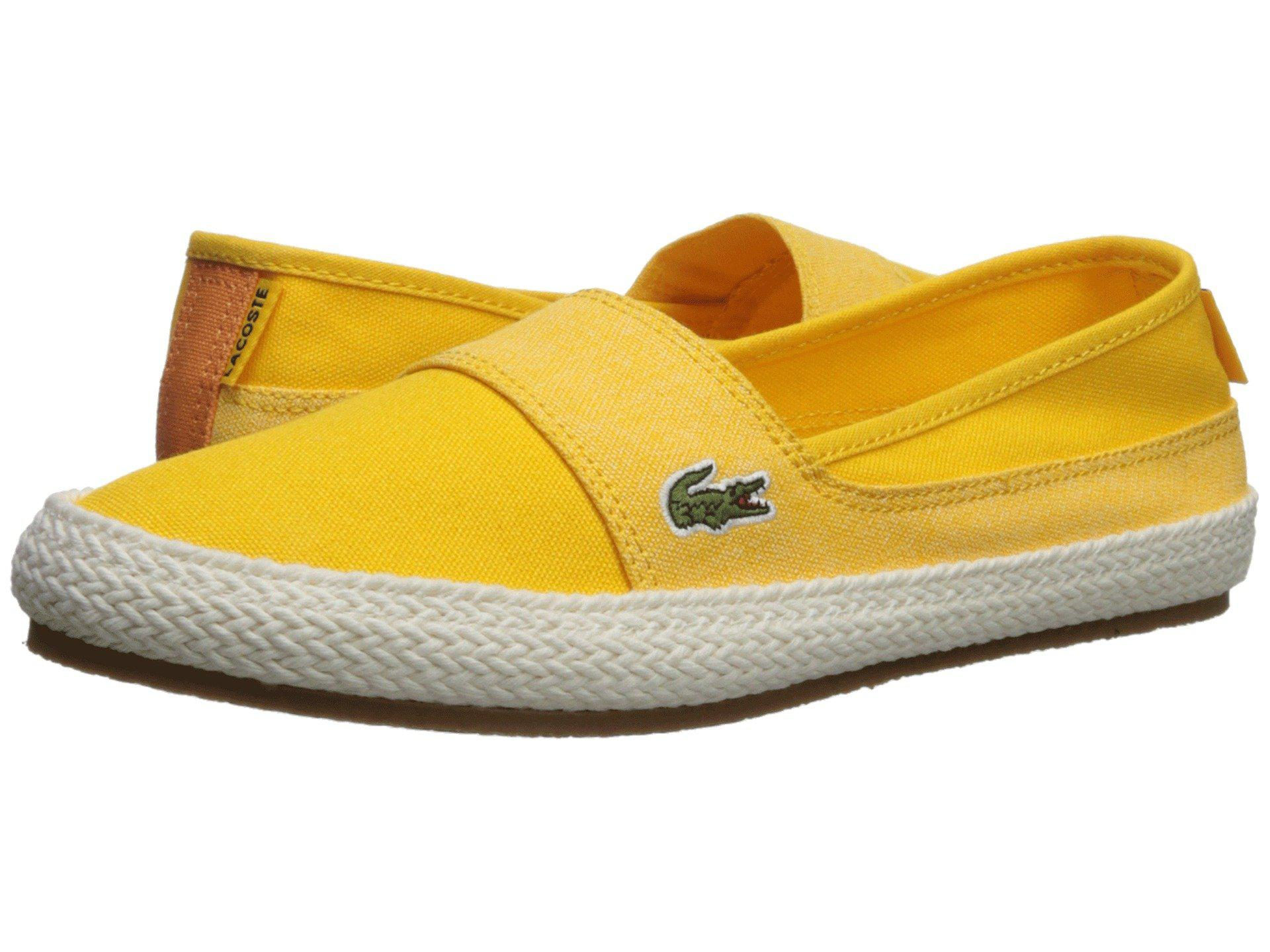 213fdf4c5625c Lyst - Lacoste Marice 218 1 (light Blue blue) Women s Shoes in Yellow