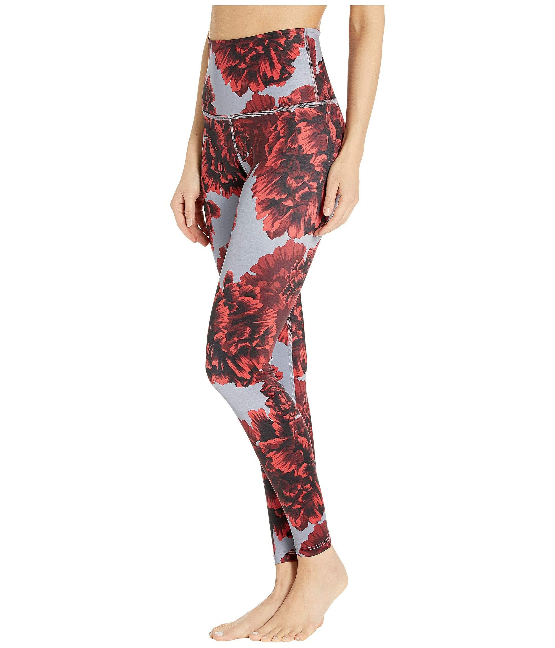c054bf45576f3 Lyst - Beyond Yoga Lux High Waist Leggings in Red - Save 19%
