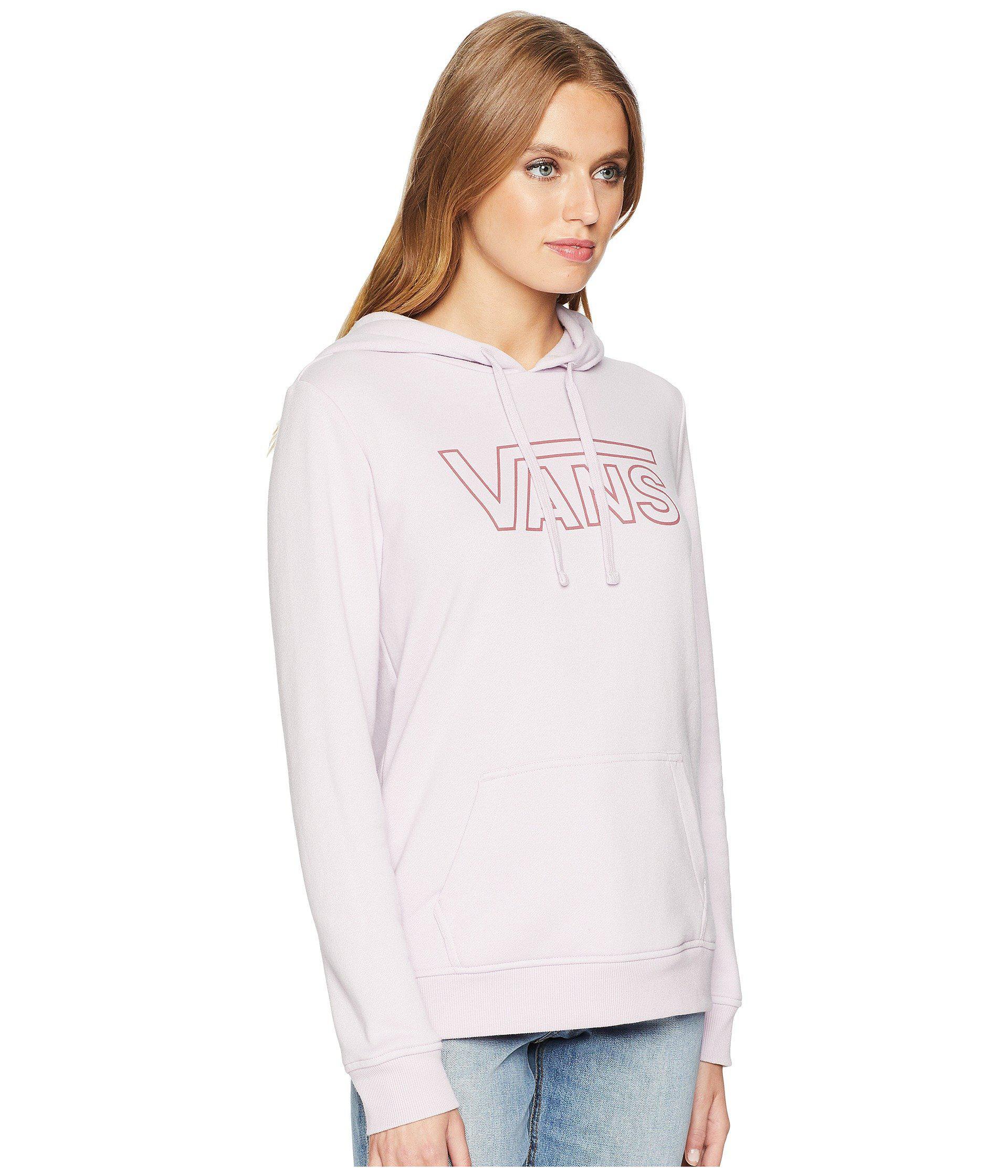 add66cd18cda86 Lyst - Vans Rewind Hoodie (snow White Heather) Women s Sweatshirt