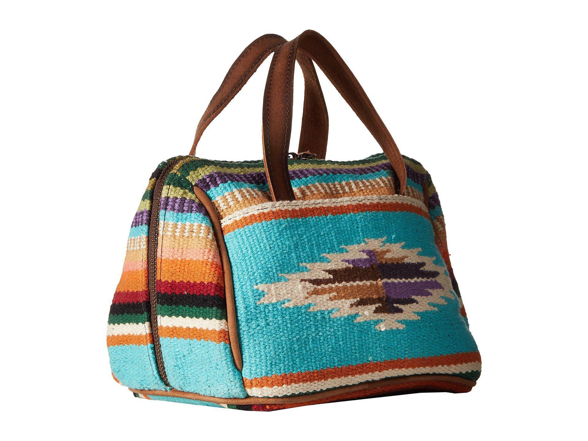 154a3b4b9bb2 Lyst - STS Ranchwear The Makeup Bag (tularosa Serape) Handbags in Blue