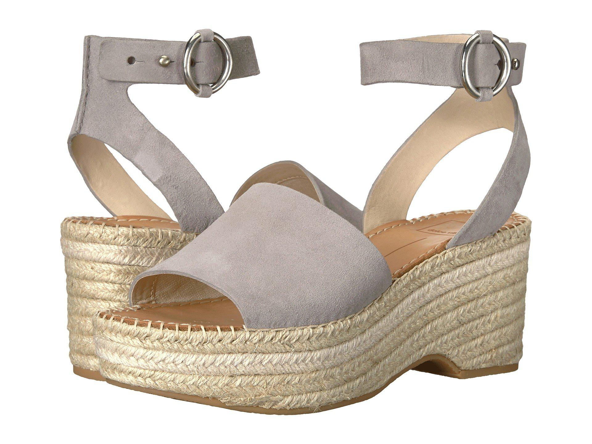 921a83cf47cc Lyst - Dolce Vita Lesly Espadrilles in Gray - Save 51%