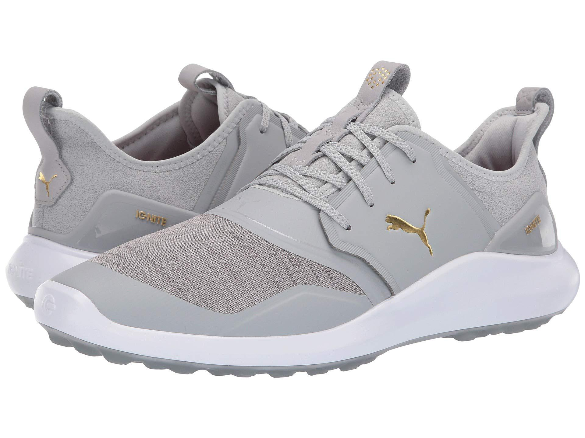 Lyst - PUMA Ignite Nxt (peacoat team Gold white) Men s Golf Shoes in ... da8793f08