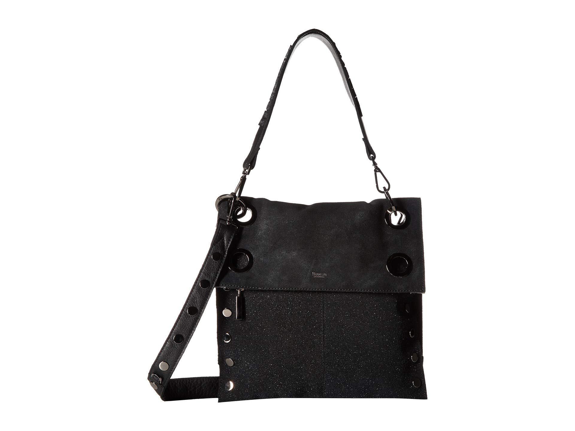 d3972a0629e Hammitt Montana Rev (black/gunmetal) Cross Body Handbags in Blue - Lyst