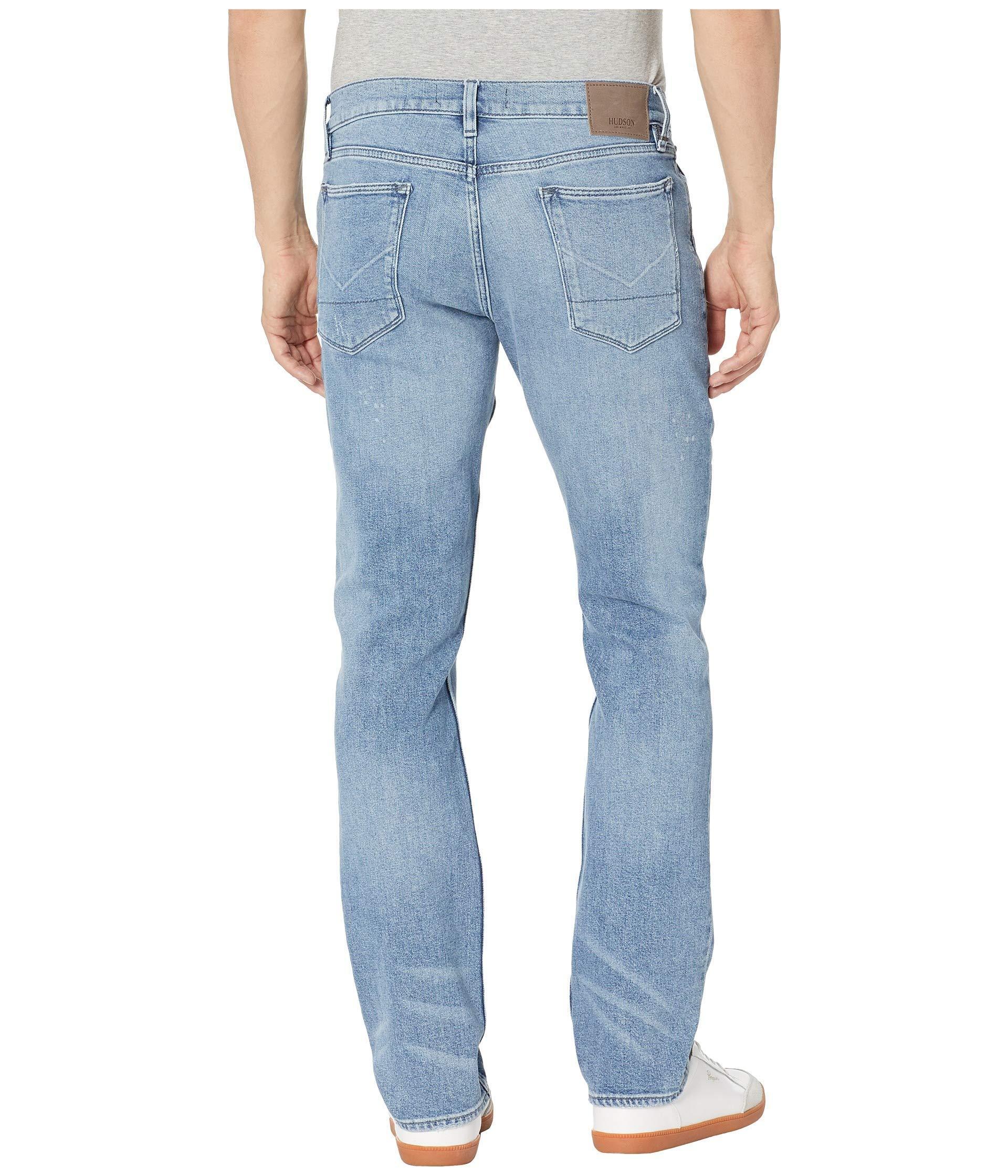 4cf38aa0e3d Lyst - Hudson Jeans Blake Slim Straight Zip Fly Jeans In Stiles ...
