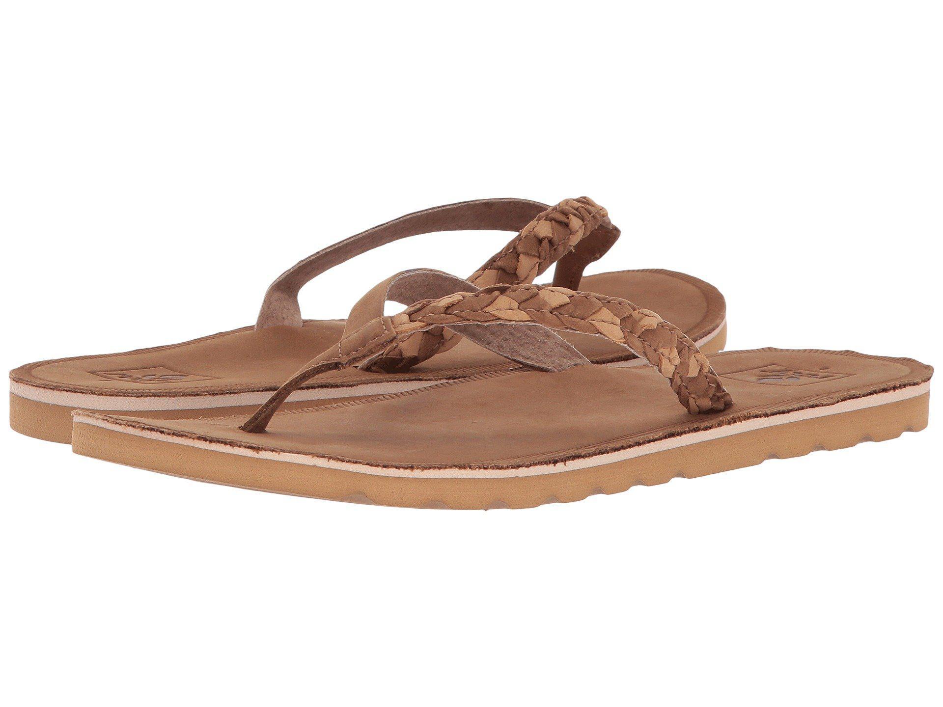 bb98b245b2c8 Lyst - Reef Voyage Sunset (caramel) Women s Sandals in Brown