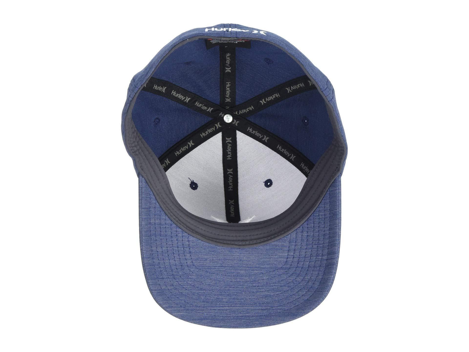 17da052b67210c Hurley - Blue Dri-fit Cutback Hat (dark Grey/white) Baseball Caps. View  fullscreen