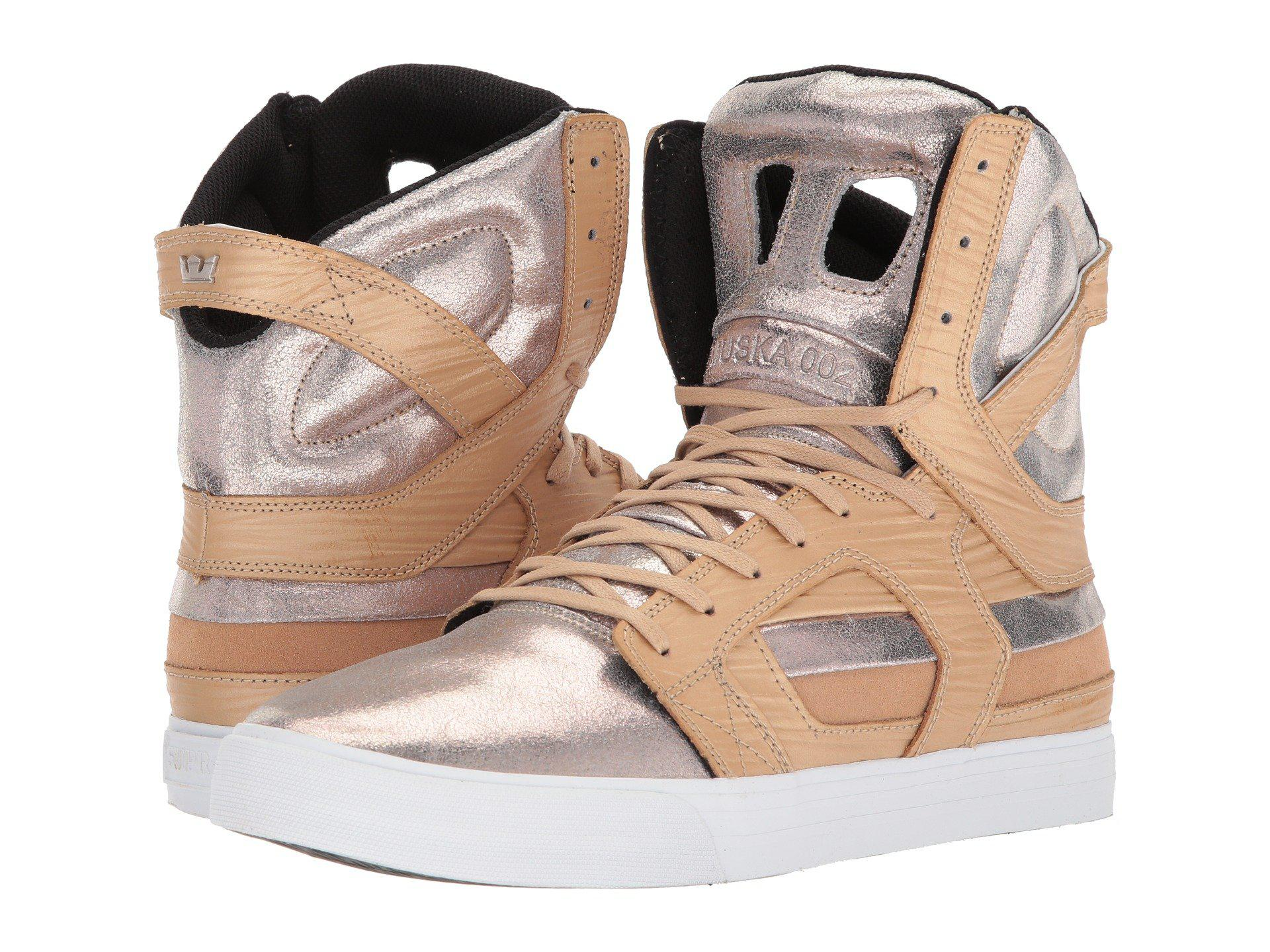 6997563fee2 Lyst - Supra Skytop Ii (champagne/white) Men's Skate Shoes in White ...