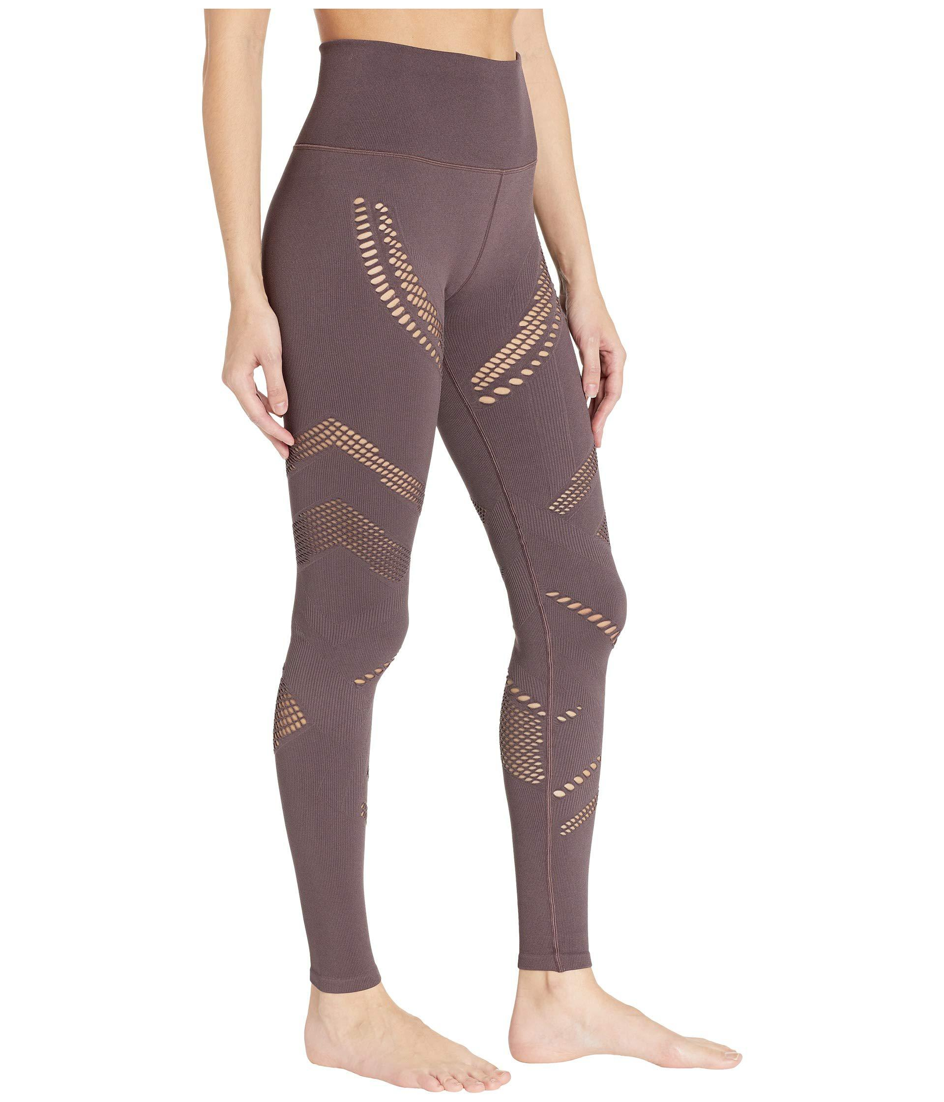 4a1aac42754e8 Alo Yoga High-waist Seamless Radiance Leggings (black) Women's ...