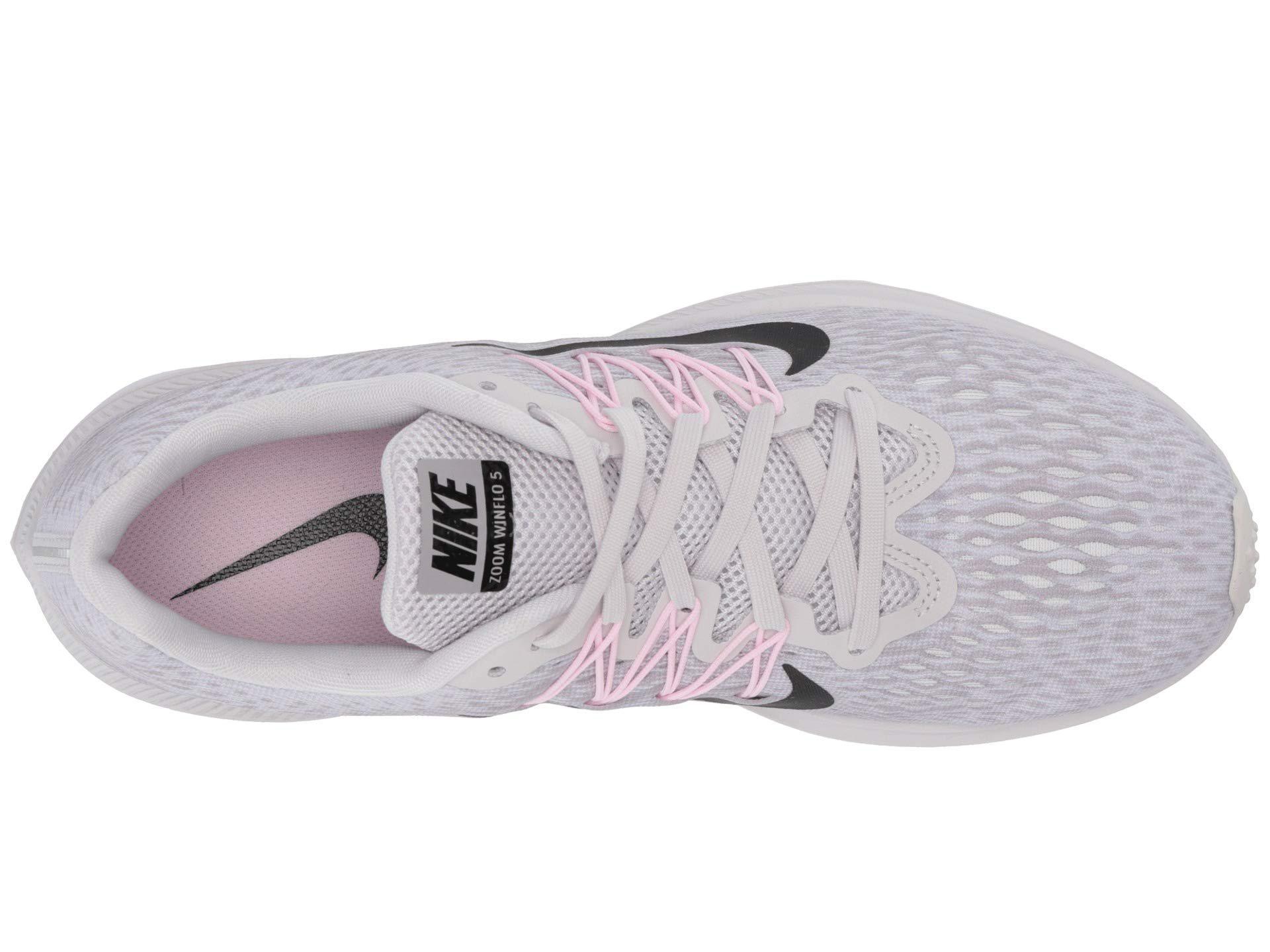 673933e7e8ef4 Nike - Gray Air Zoom Winflo 5 (black white anthracite) Women s Running.  View fullscreen