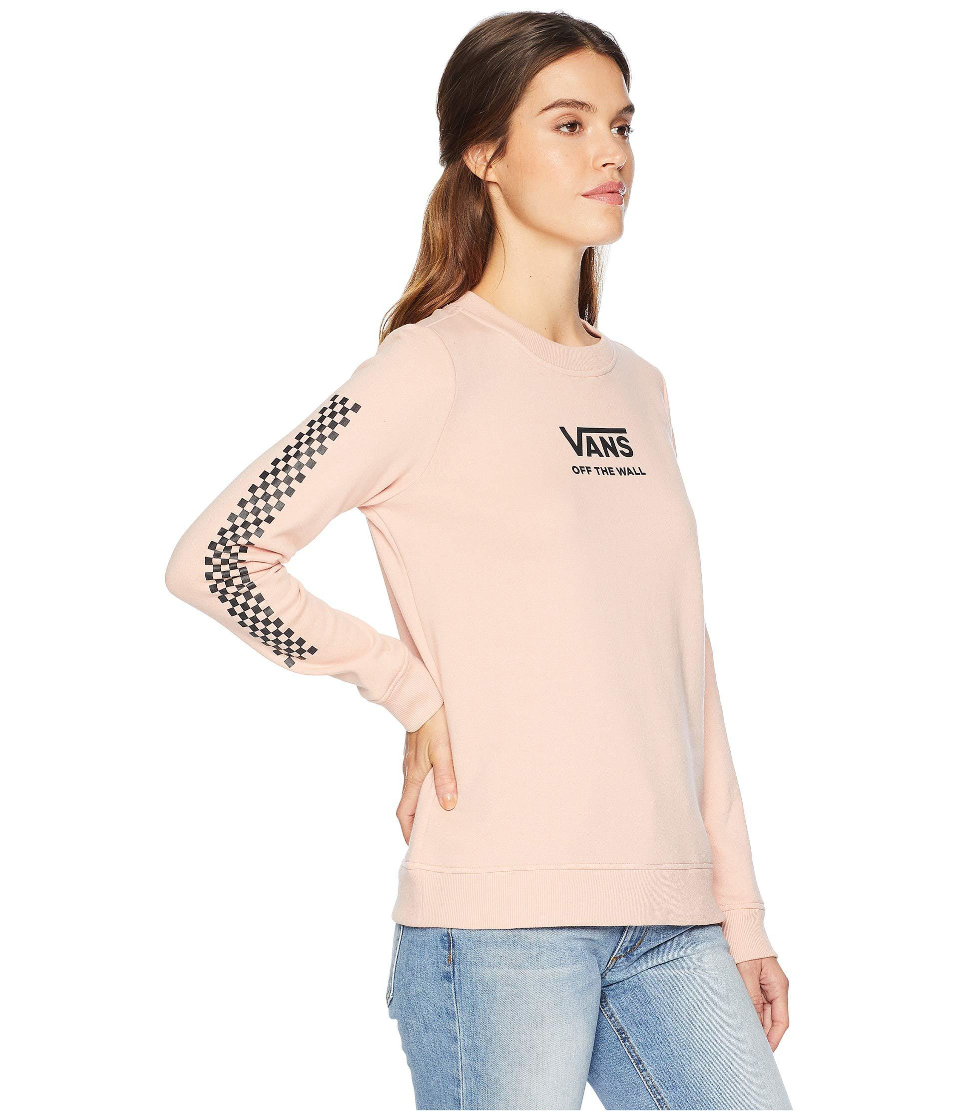 fb72fbbd3f Lyst - Vans Funday Crew Fleece (black) Women s Fleece in Pink