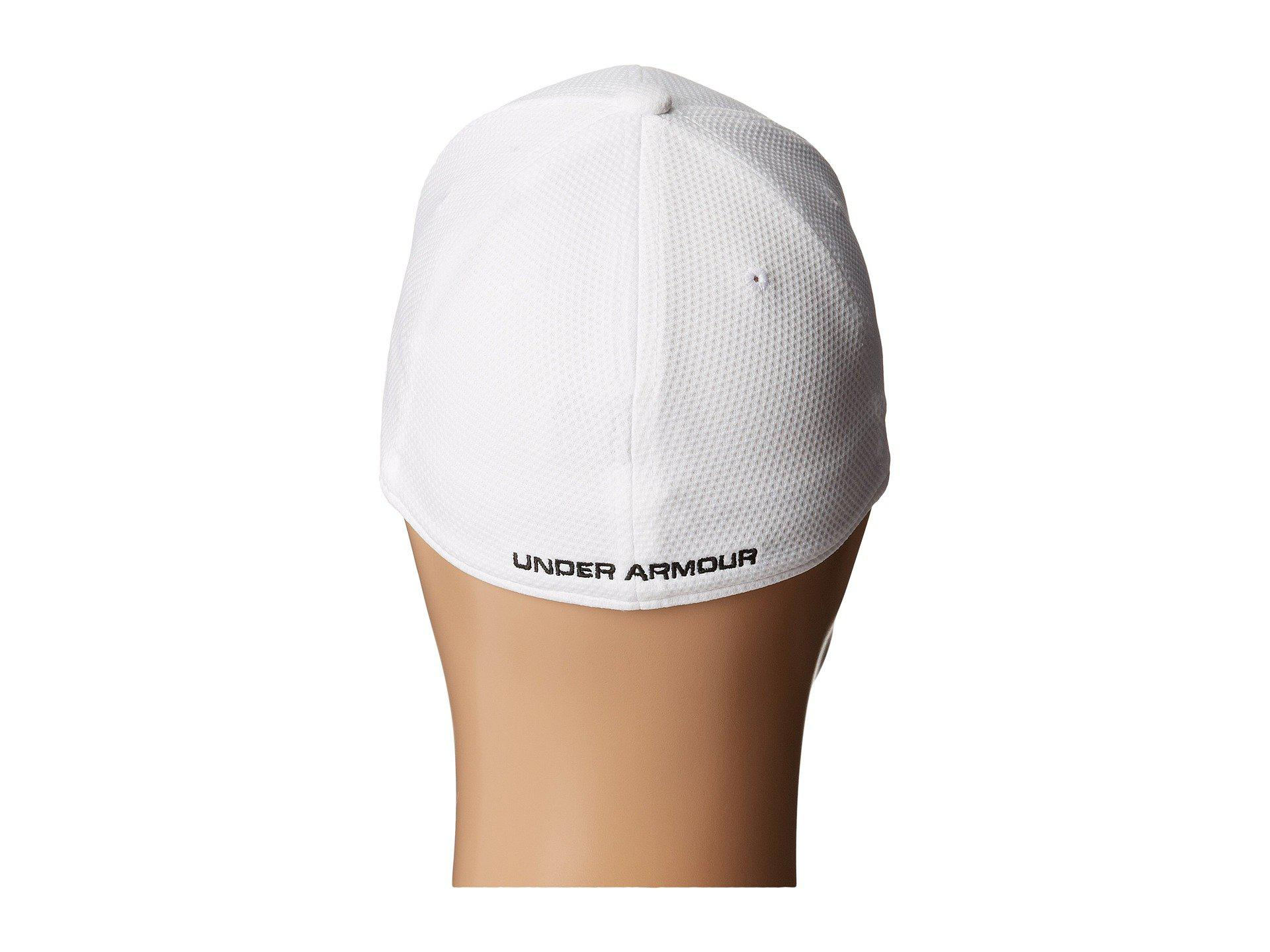 f5aea61a260 Lyst - Under Armour Ua Blitzing 2.0 Stretch Fit Cap (youth) in White