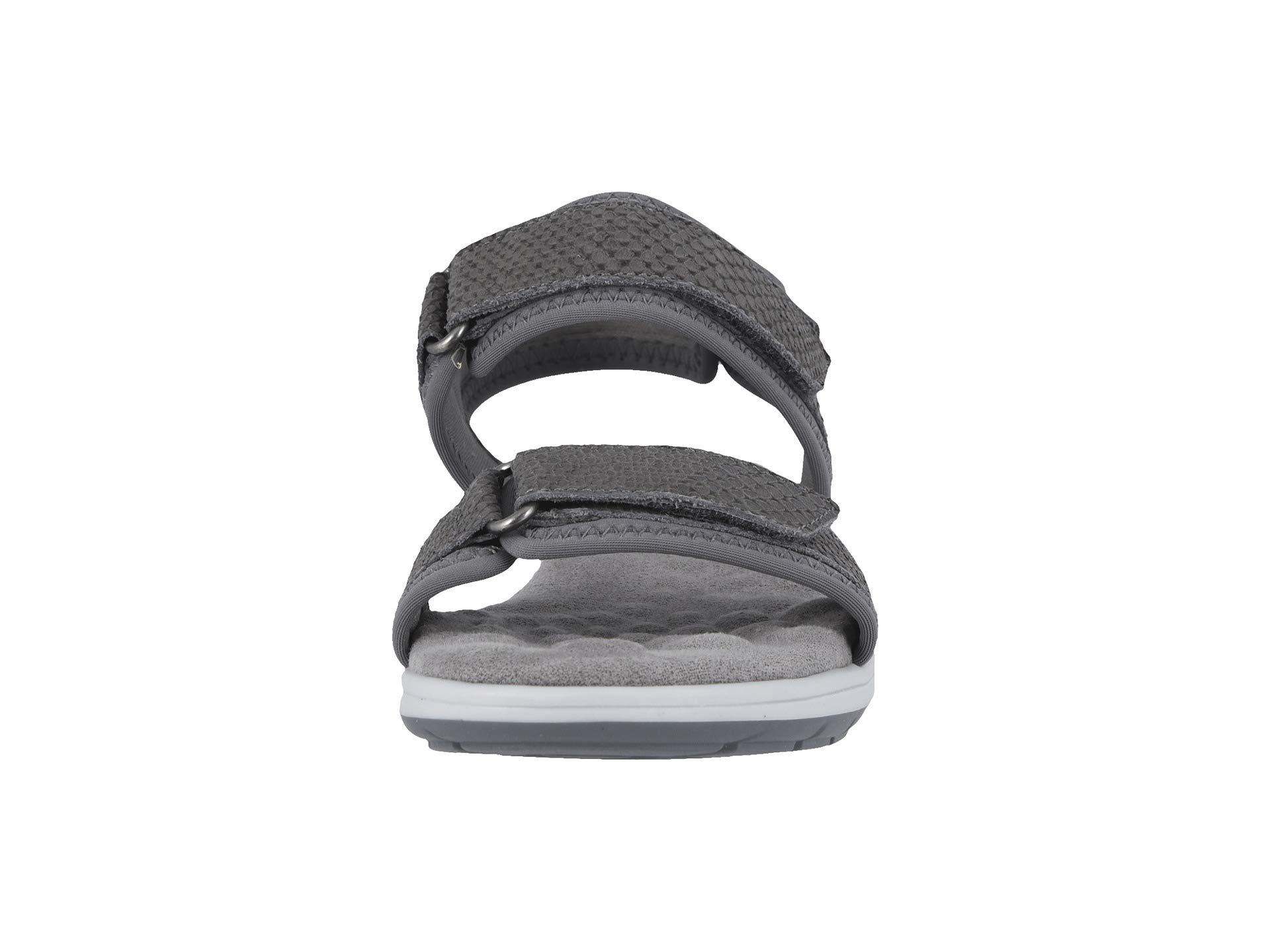 591e1e3ead8f Walking Cradles - Shea (slate Gray Lycra matte Snake Print) Women s Sandals  -. View fullscreen