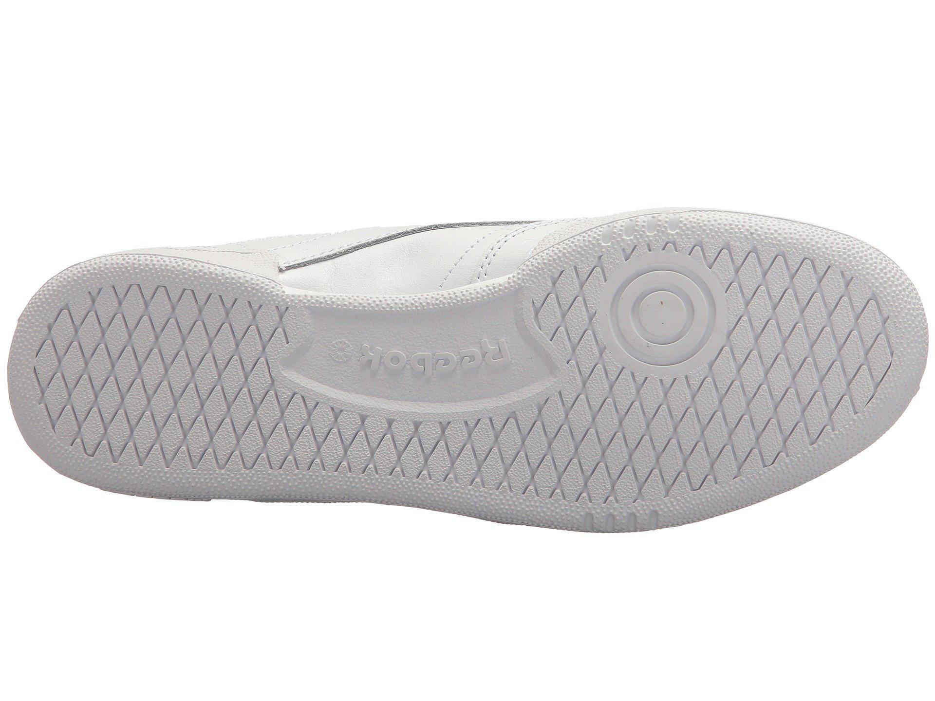 33c1132fb89 Reebok - Gray Club C 85 (white light Grey gum) Women s Shoes. View  fullscreen