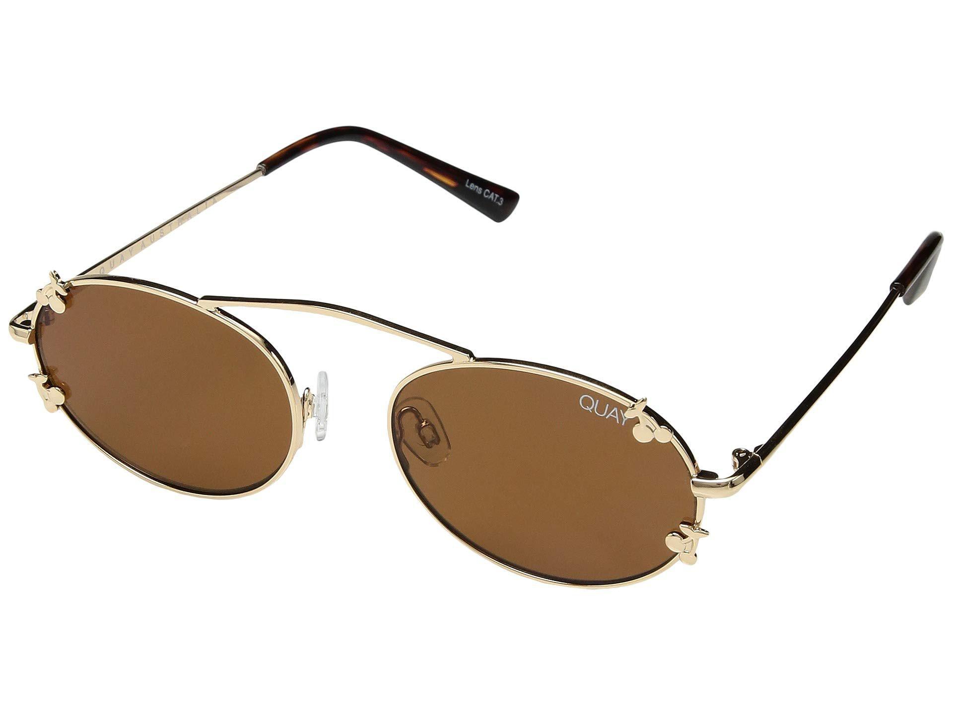 785eaa8e32faa Lyst - Quay Final Stand Cherries (gold brown) Fashion Sunglasses in ...