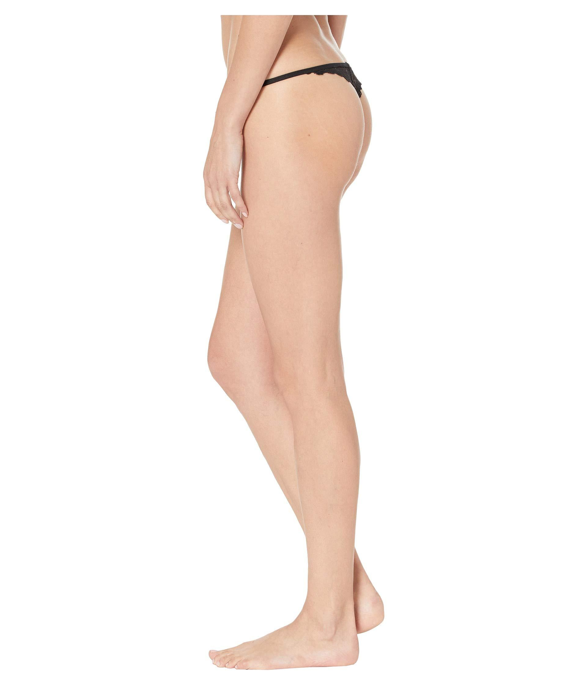 fa0ec5db6c76 Only Hearts - Whisper Sweet Nothings Barely There G-string (black) Women's  Underwear. View fullscreen